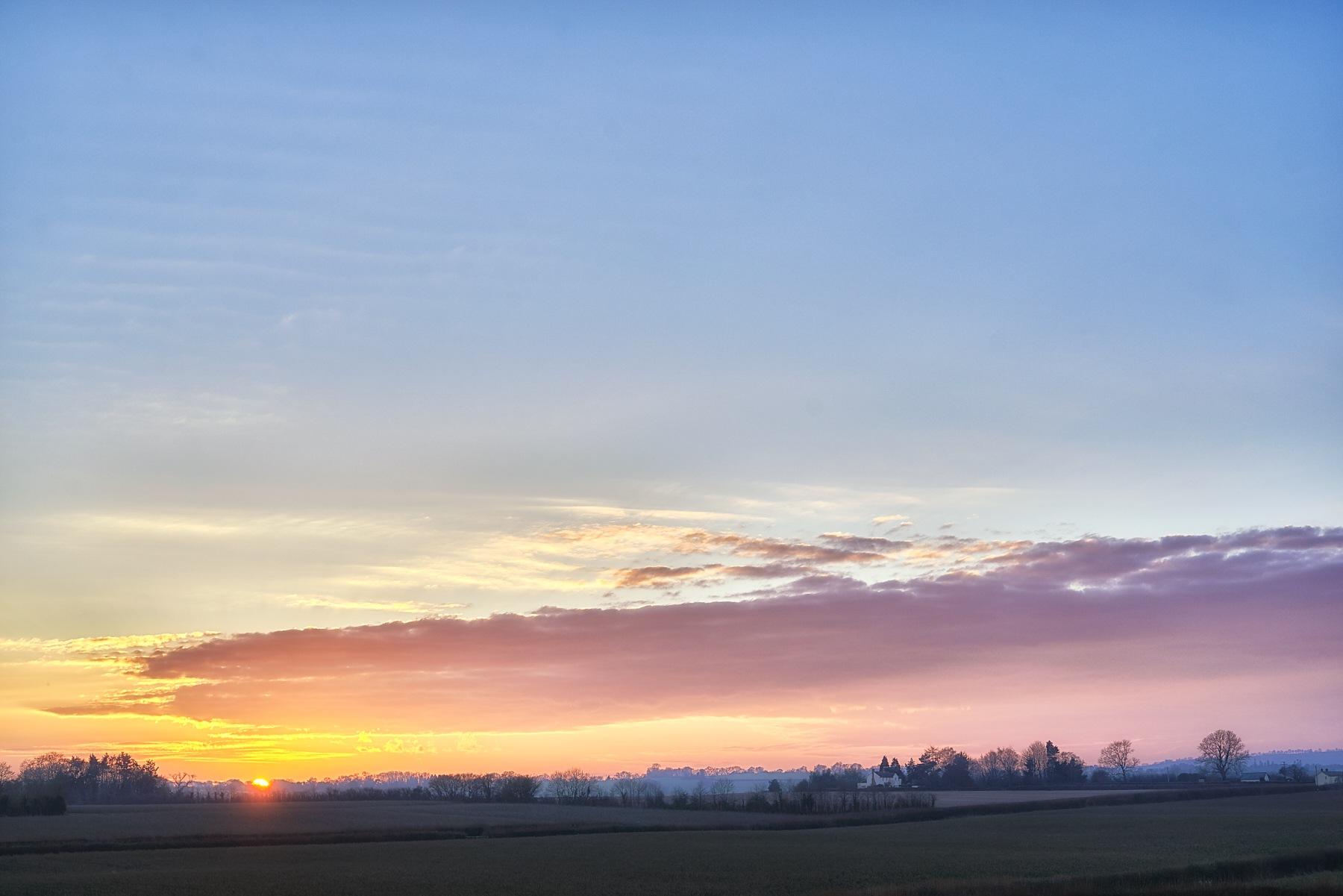 Sunset by Ian K. Iles