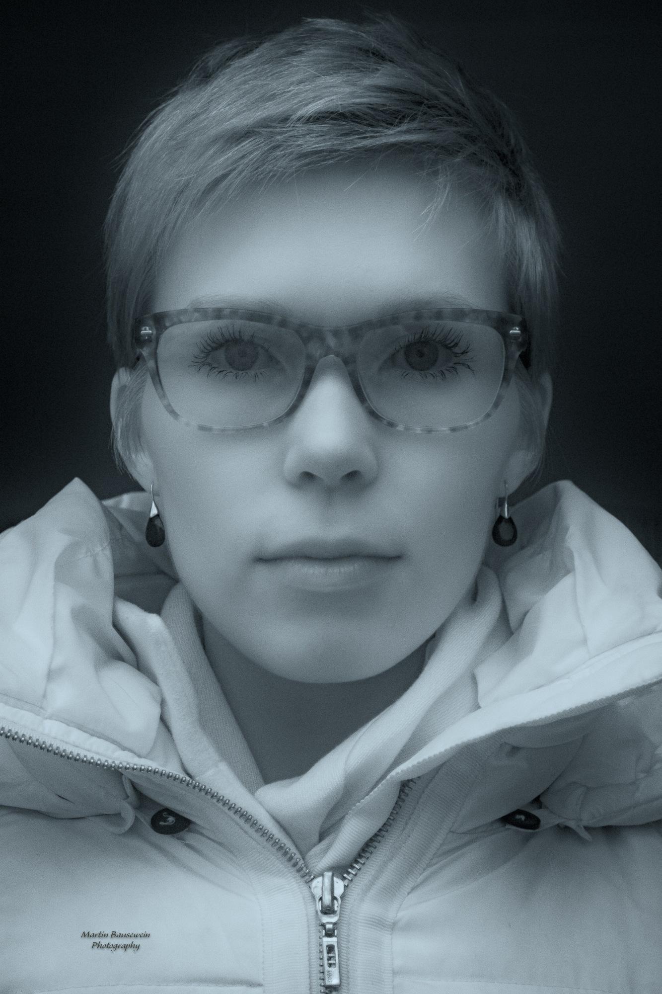 infrared portrait by Martin Bausewein