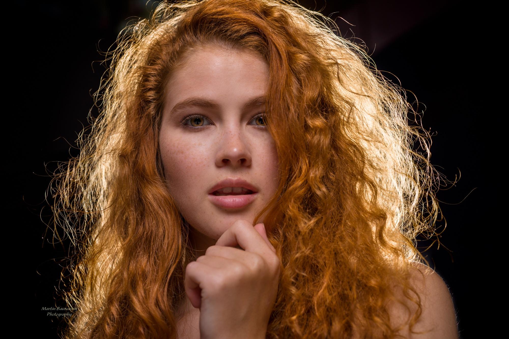 redhead by Martin Bausewein