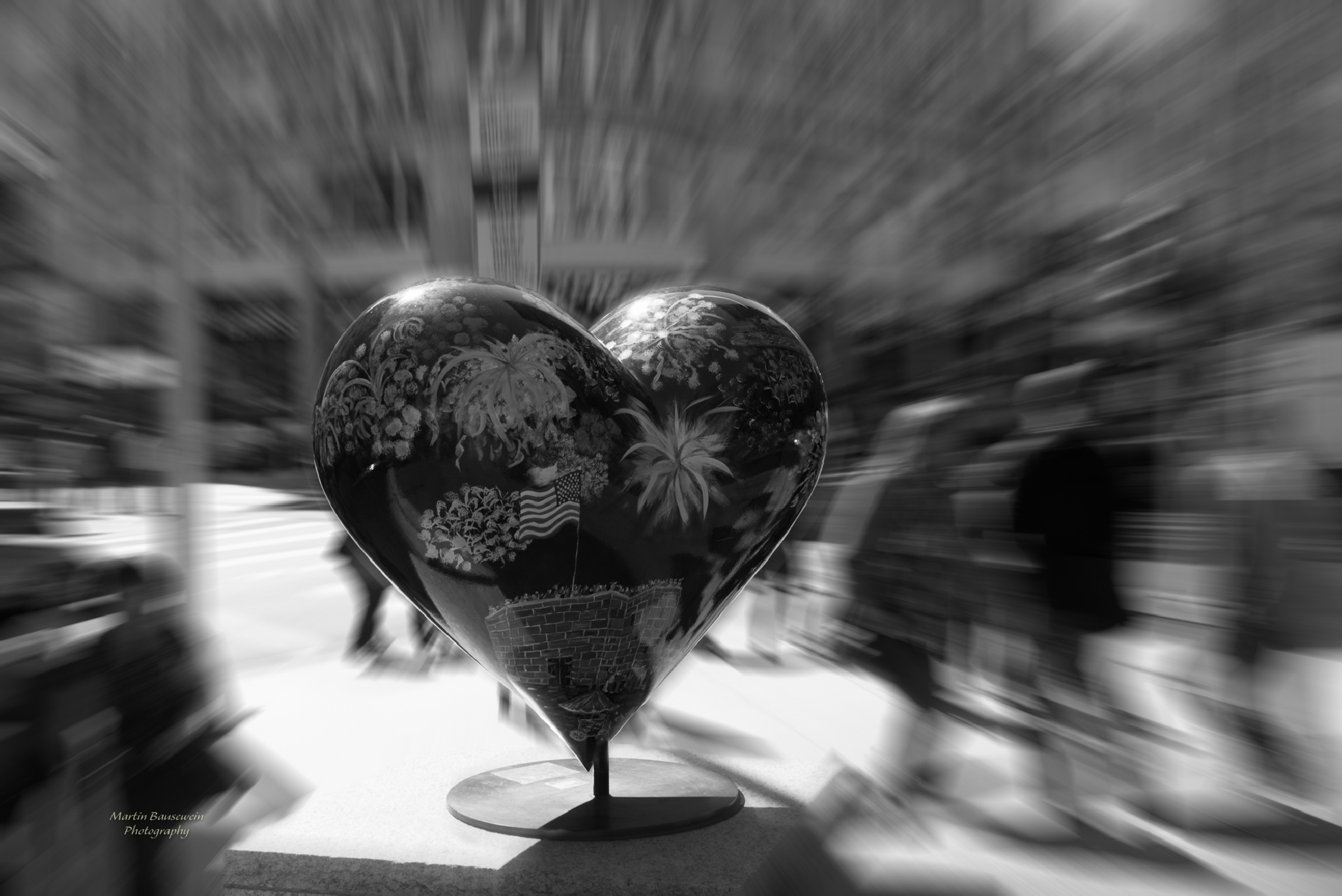 the heart by Martin Bausewein