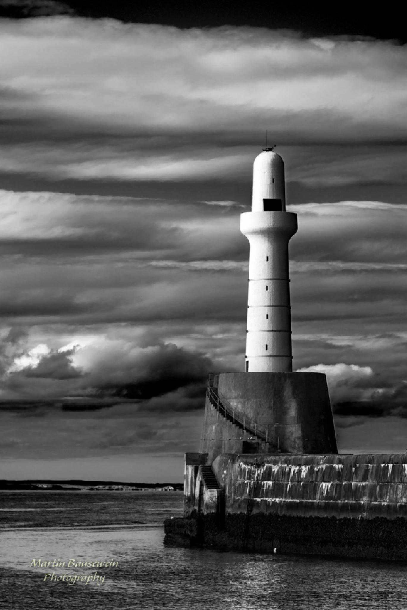 lighthouse by Martin Bausewein
