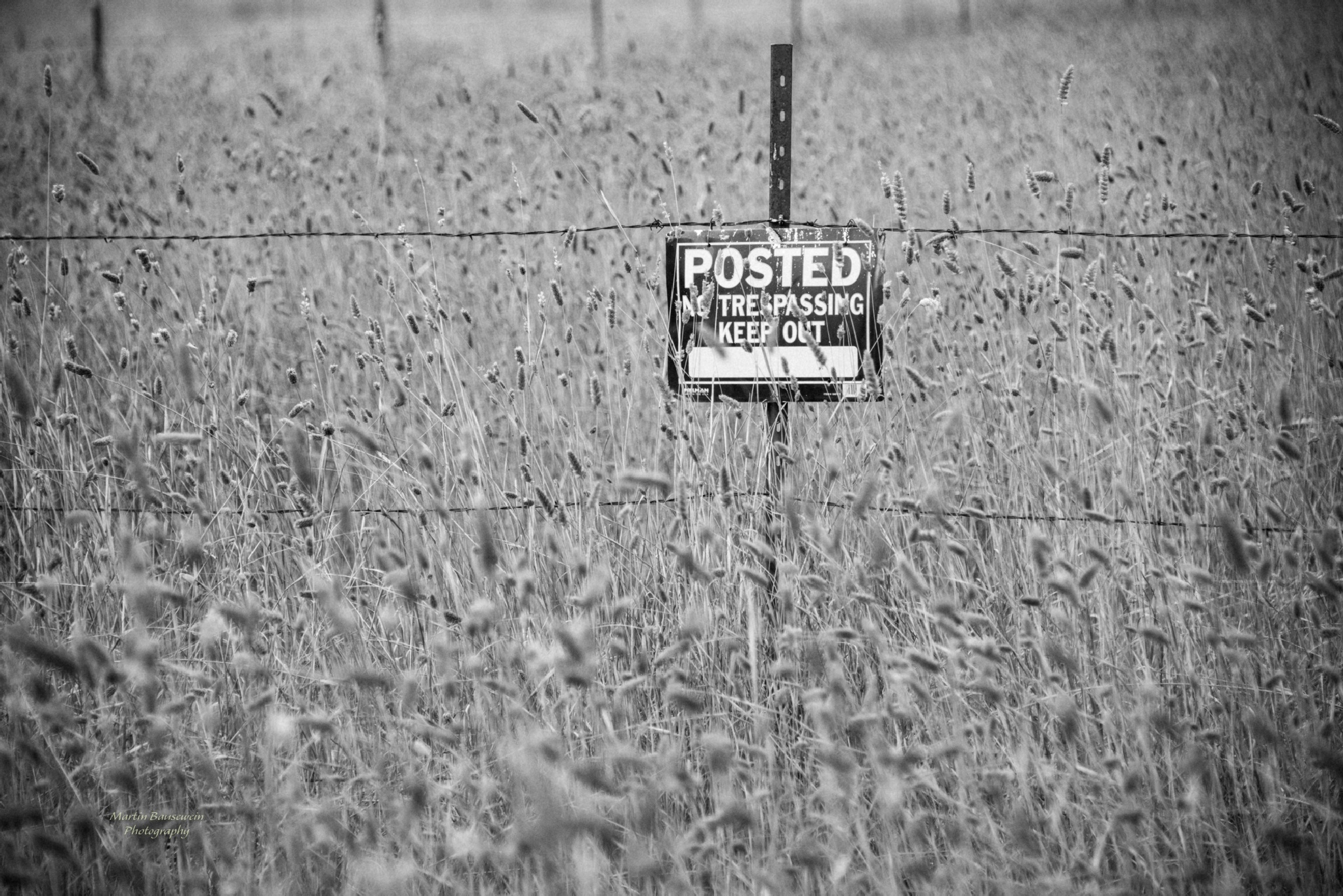 keep out! by Martin Bausewein