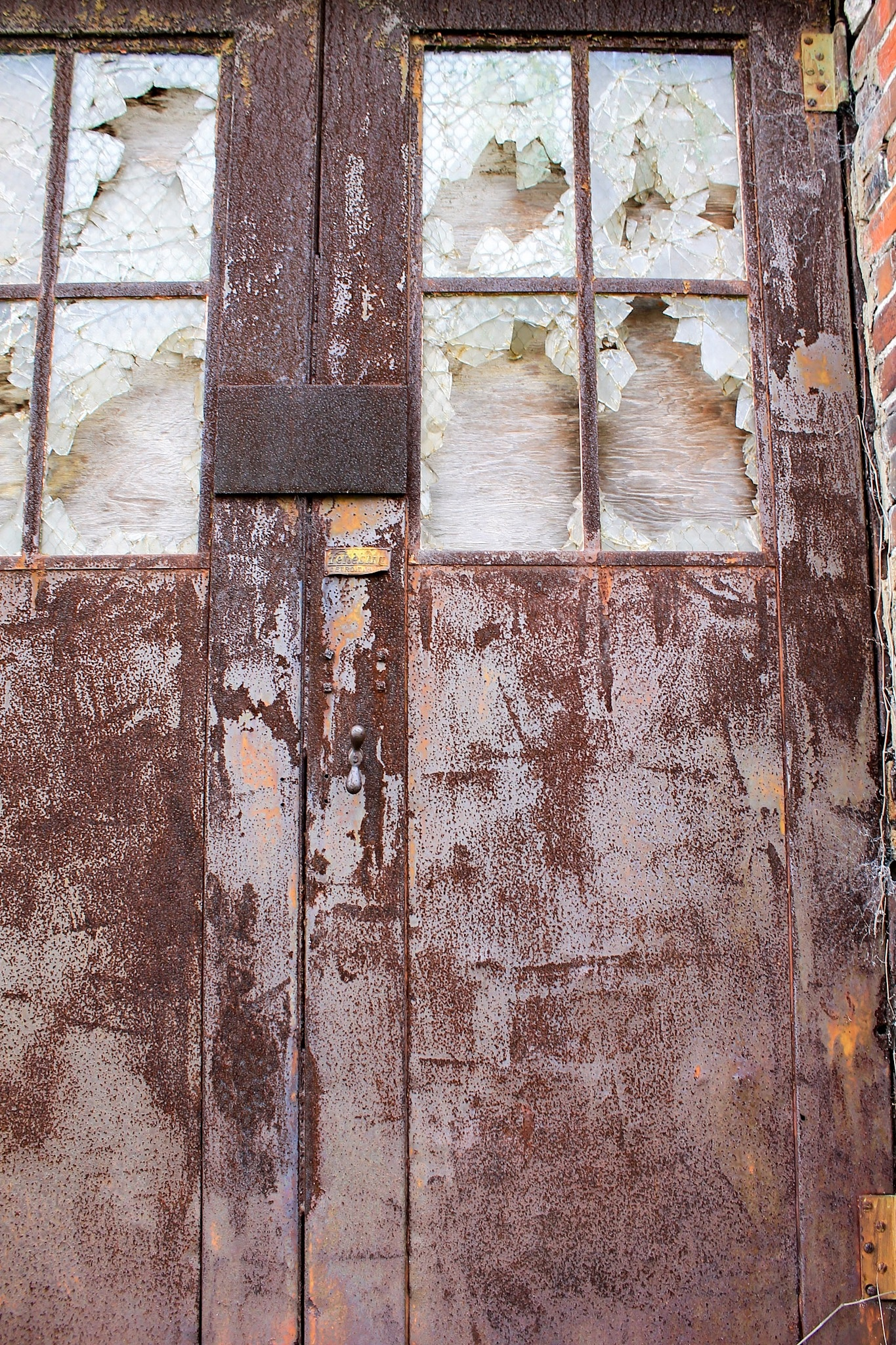 Abandoned Building Door by JustinYo