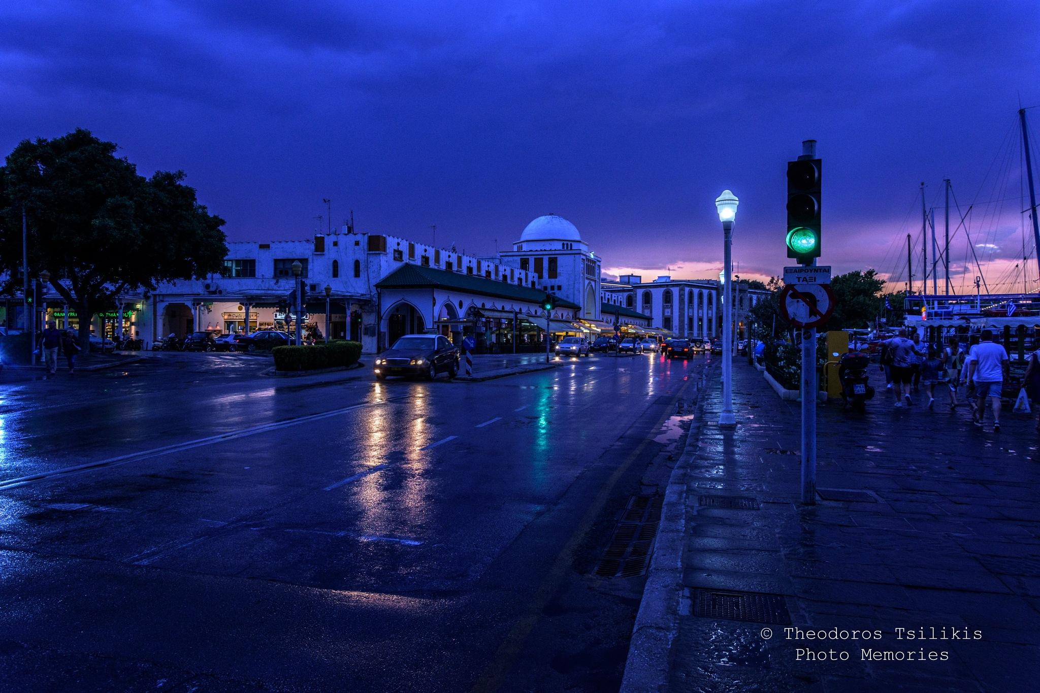 after rain  by Theodoros Tsilikis