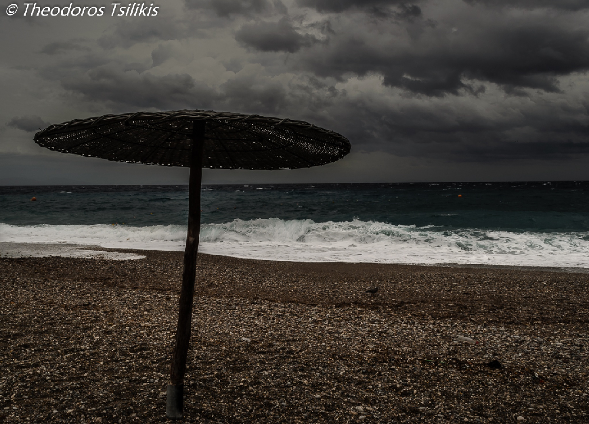 cloudy day by Theodoros Tsilikis