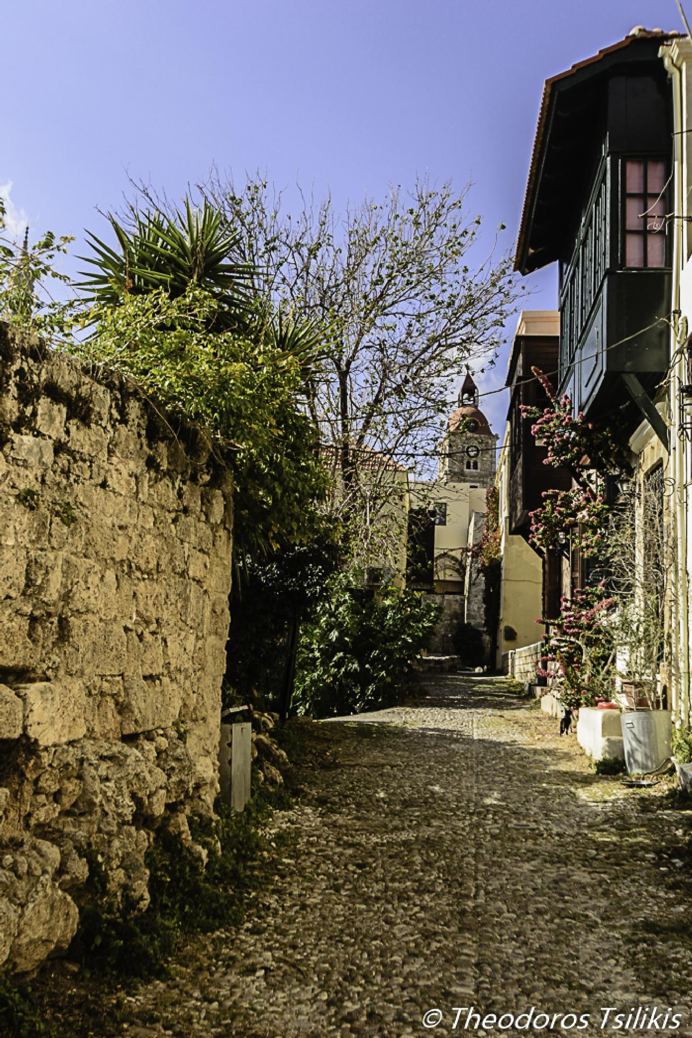 neighborhood by Theodoros Tsilikis