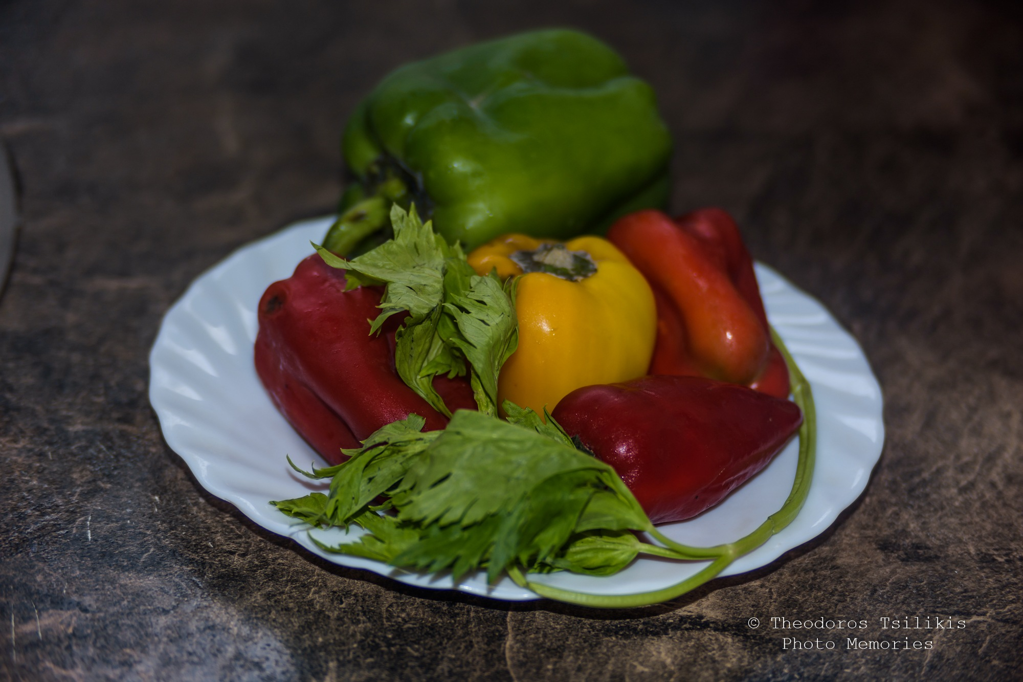 colourful plate by Theodoros Tsilikis