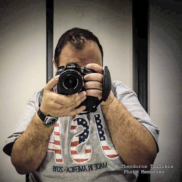self portrait by Theodoros Tsilikis