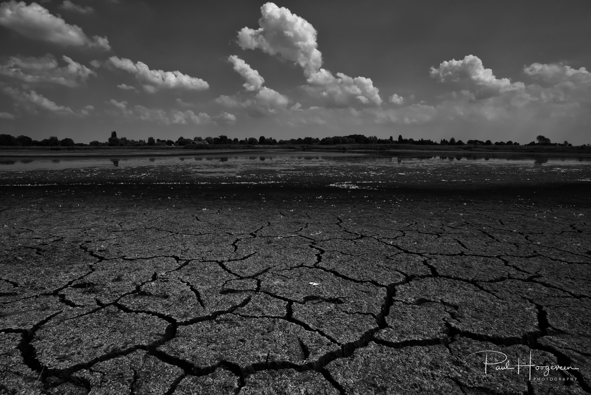 Drought and clouds by Paul Hoogeveen Photography