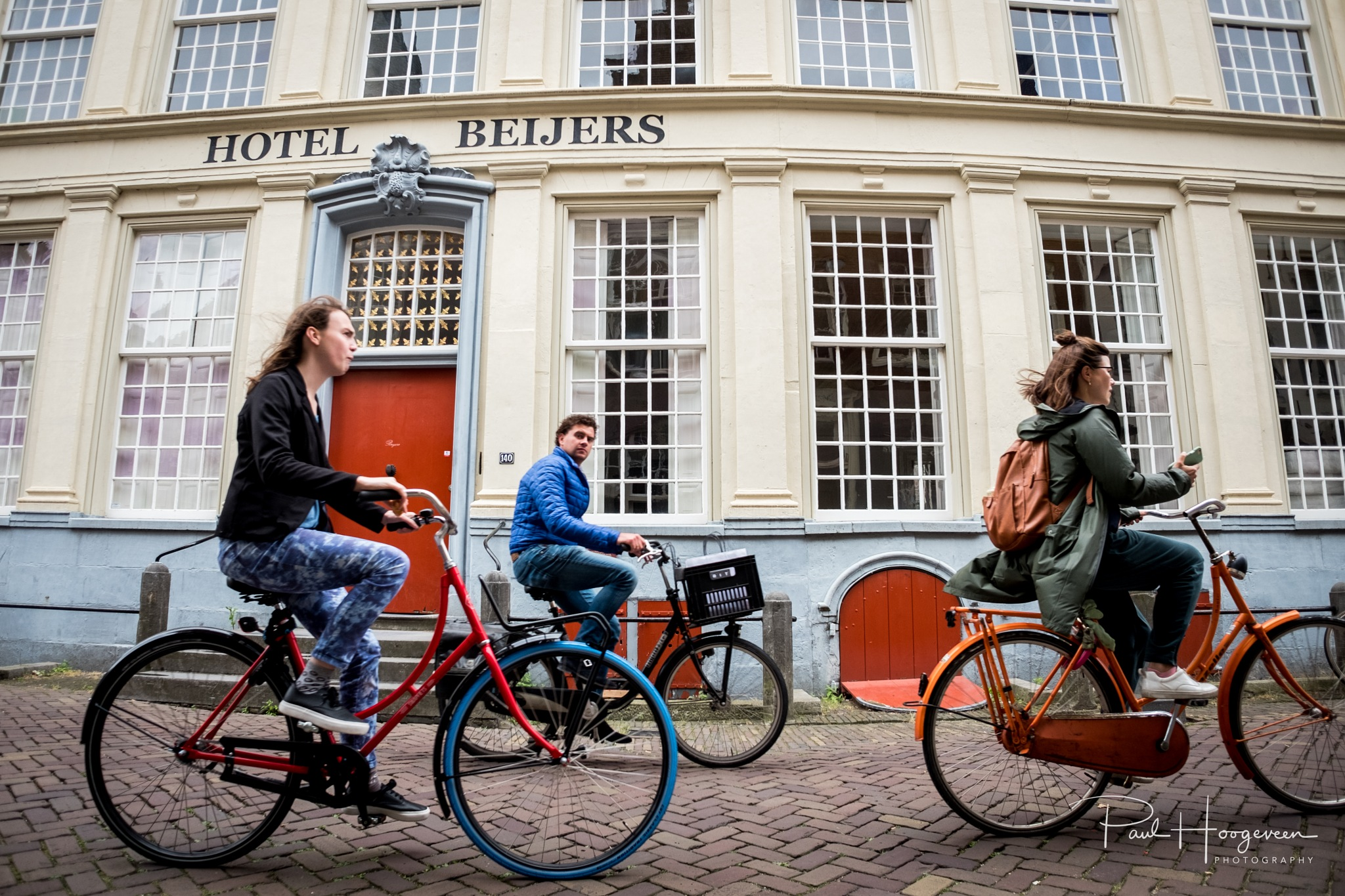 Cycling in Utrecht by Paul Hoogeveen Photography
