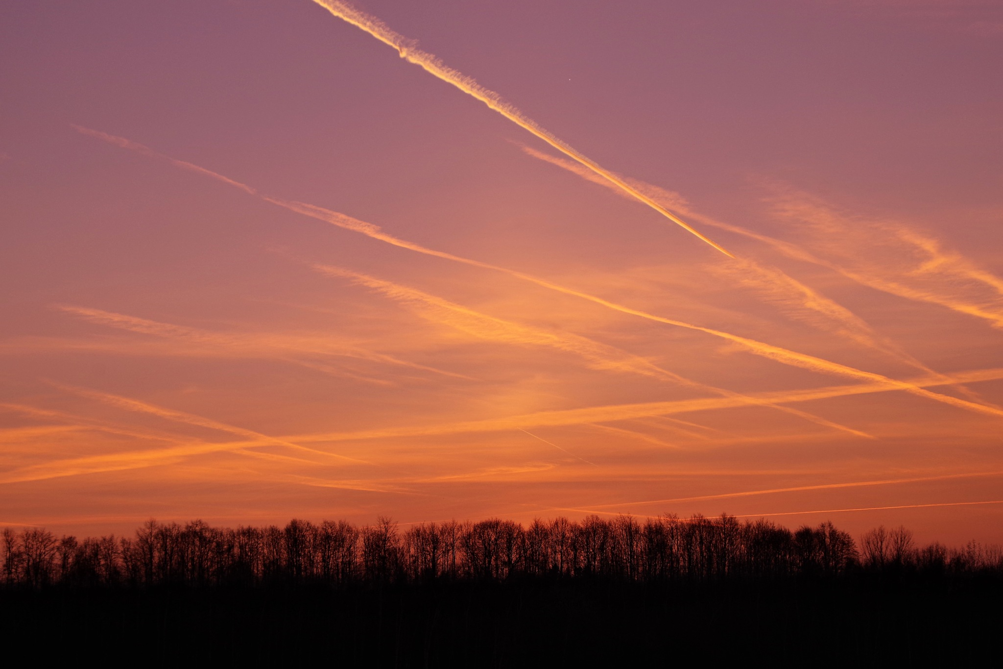 sky lines by Heike  Block