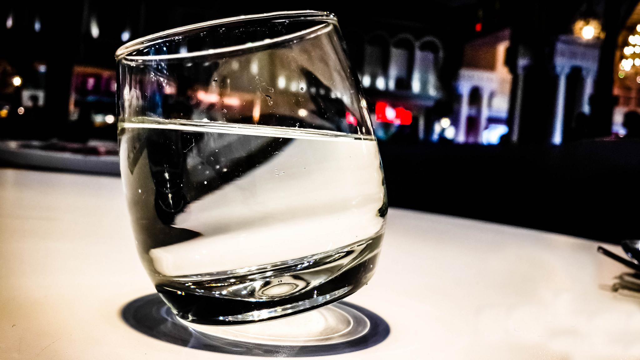 just a glass of water.. by Nikhil Raj