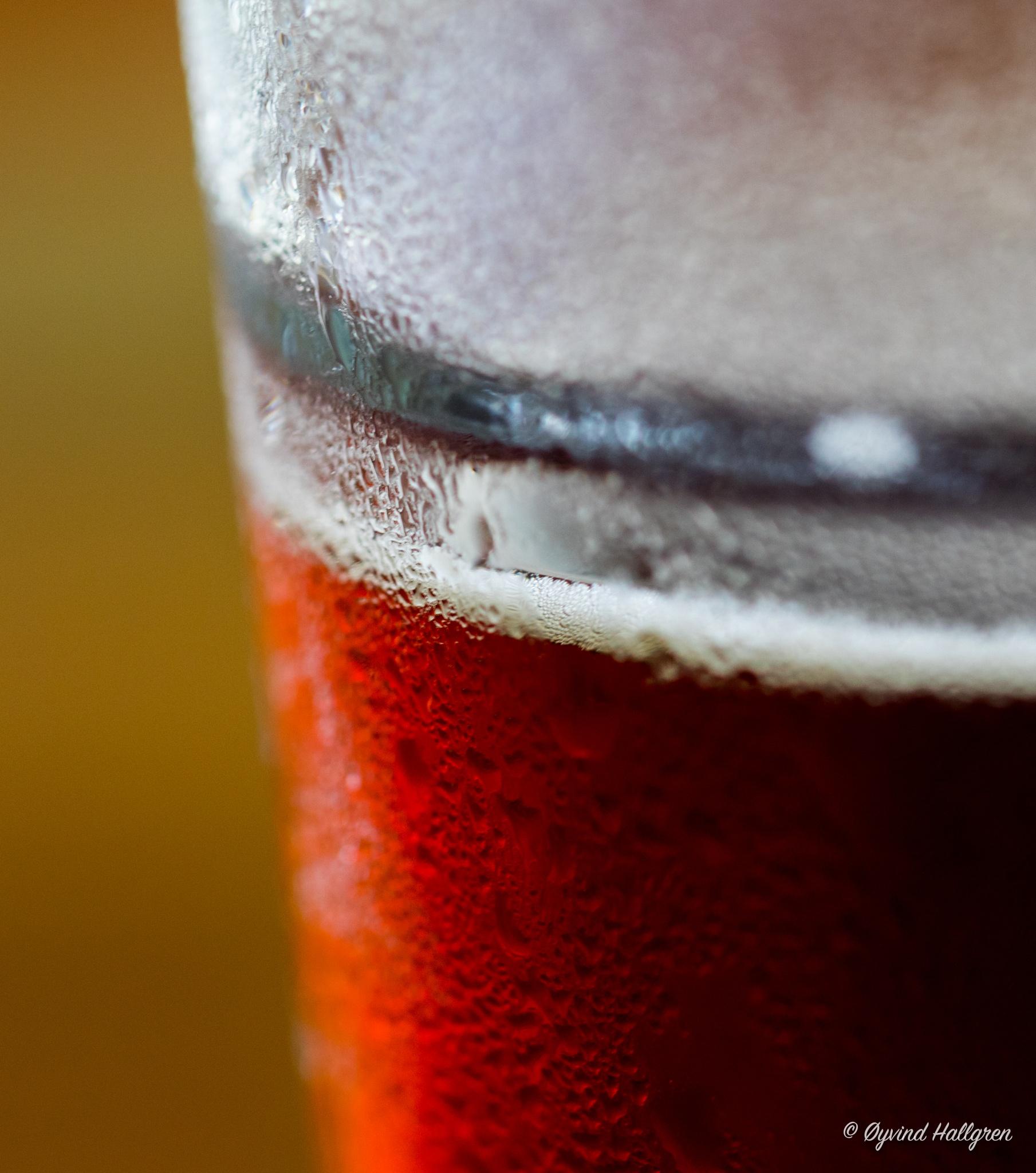 A cold beer is always appreciated  by Hallgren