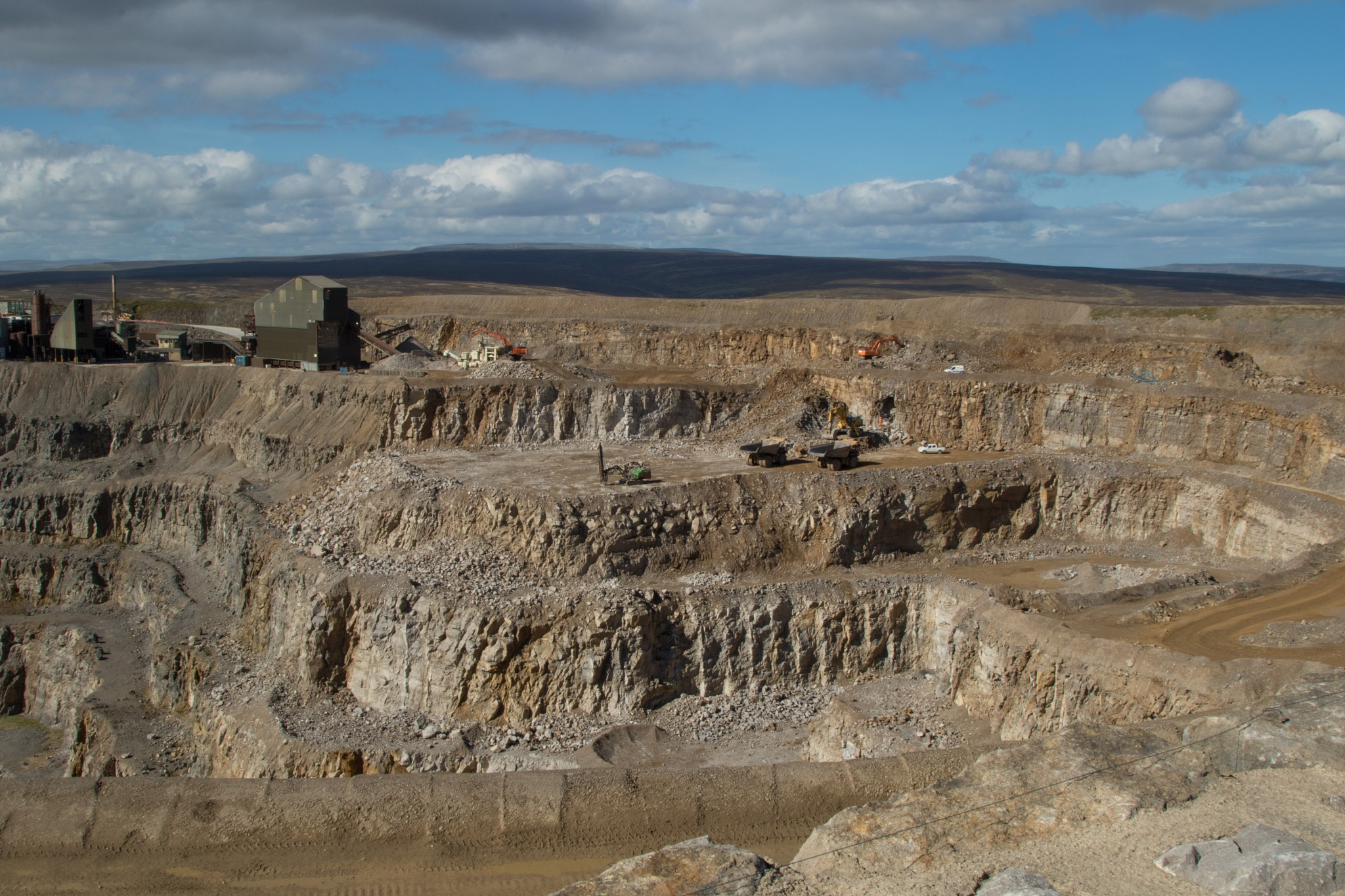 Coldstones Limestone Quarry. by Steve Gill