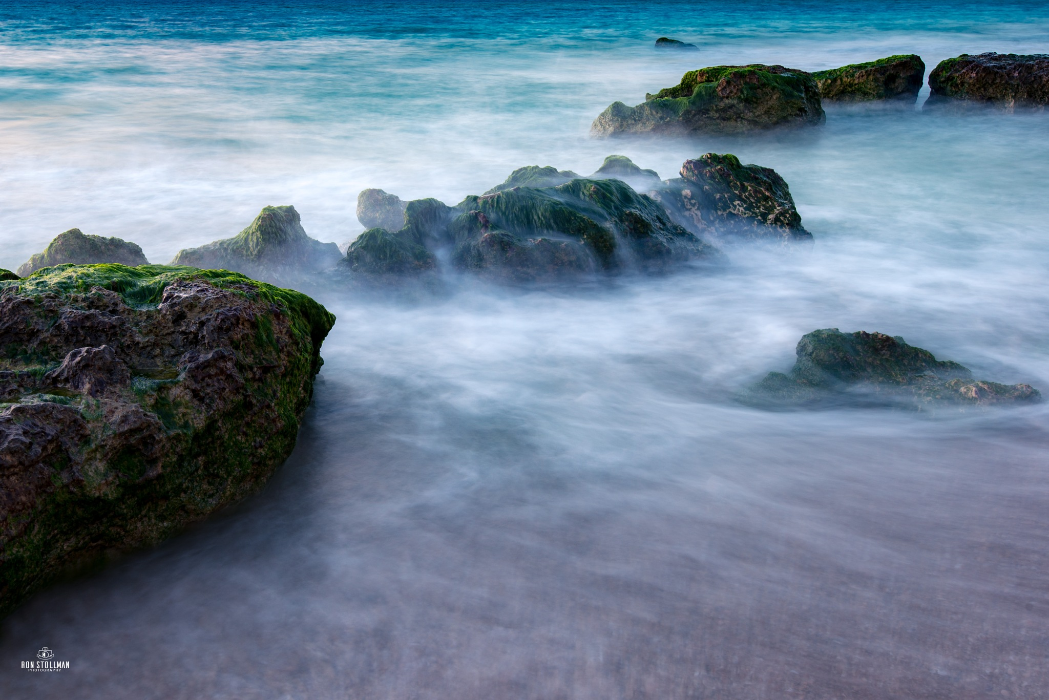 Misty Shore by Ron Stollman