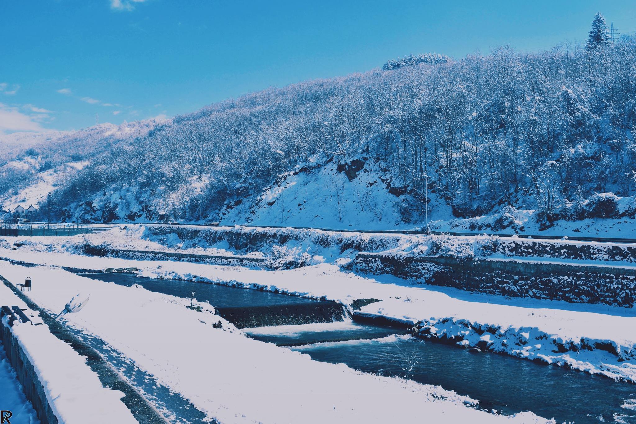 Winter in Kriva Palanka, Macedonia (8) by Robert Krstevski