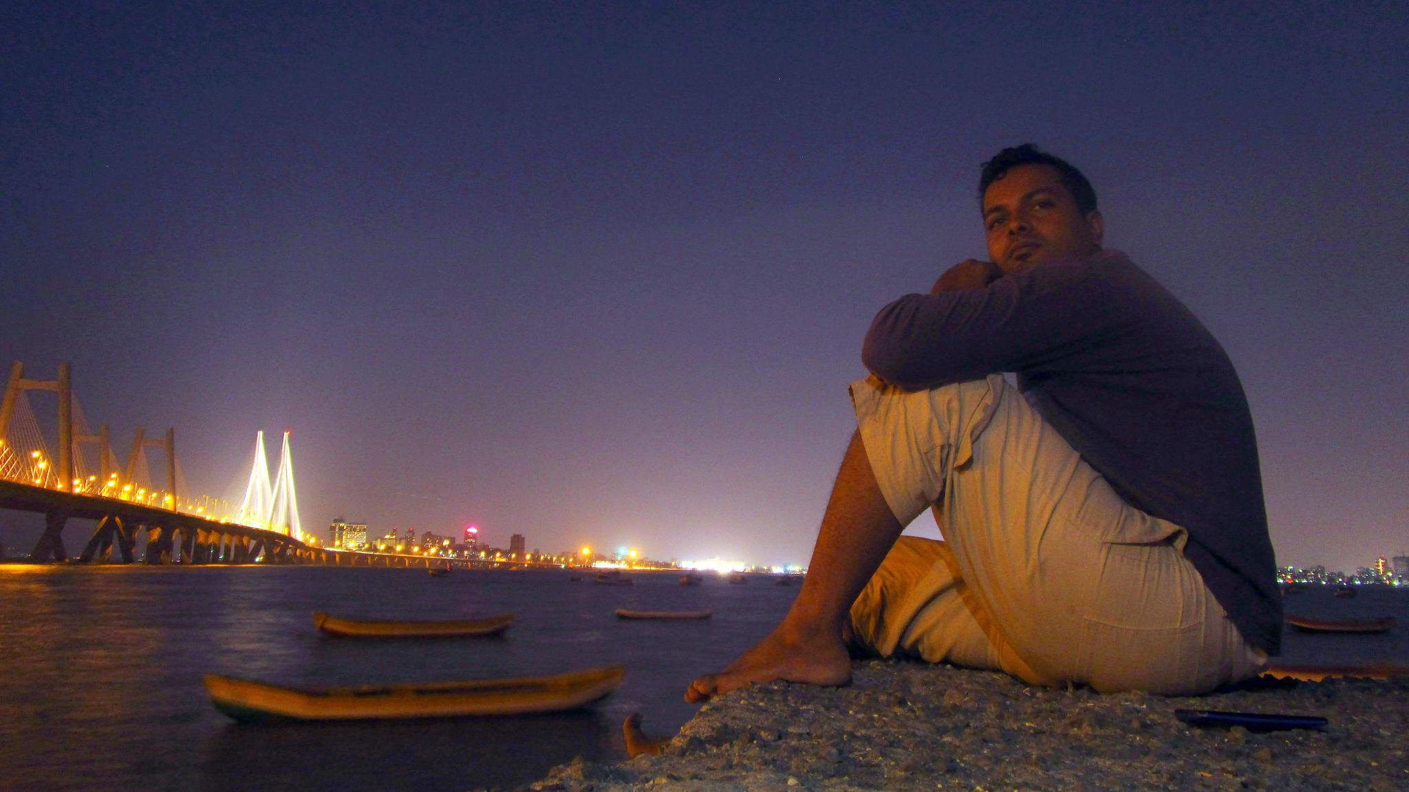 Me and Low angle by Nishikant Patil