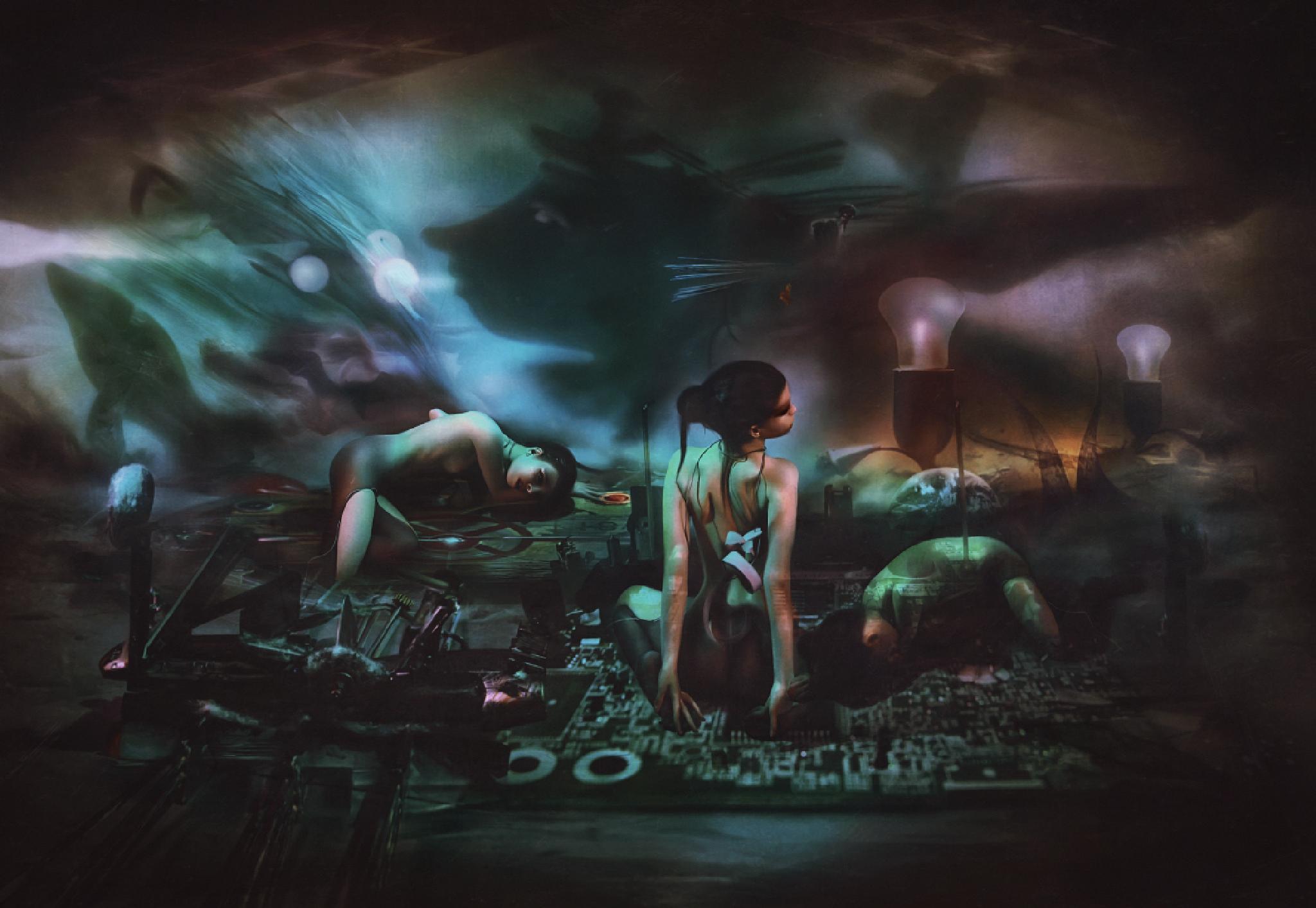 False Universes: Pseudogenesis by Ekaterina  Zagustina