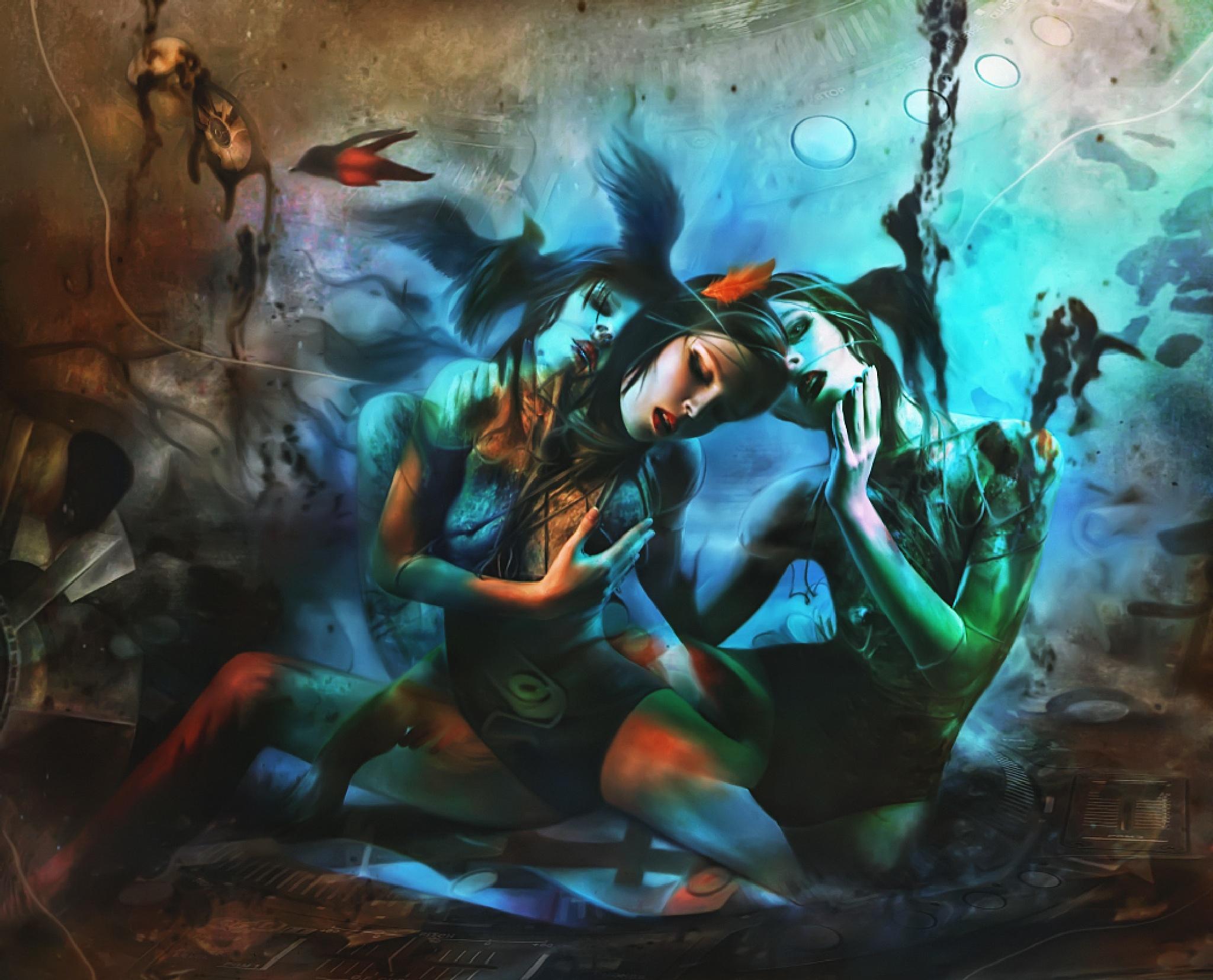 Elegy for Moonlight by Ekaterina  Zagustina