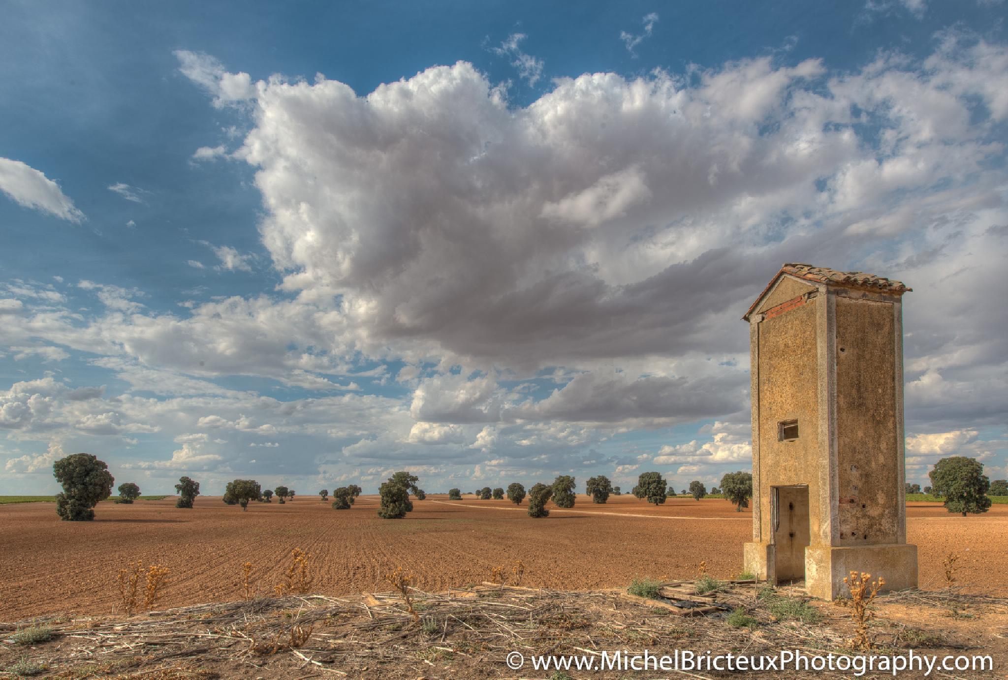 Castilla - La Mancha, España by Michel Bricteux
