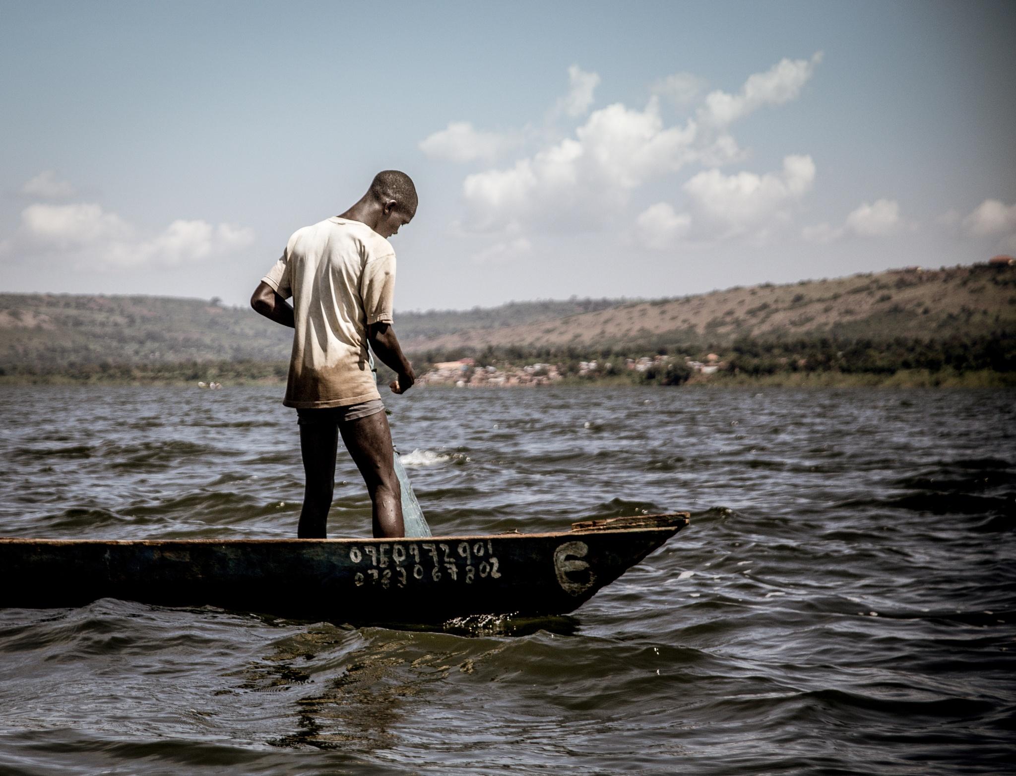 fisherman. by Stephan Schaberl