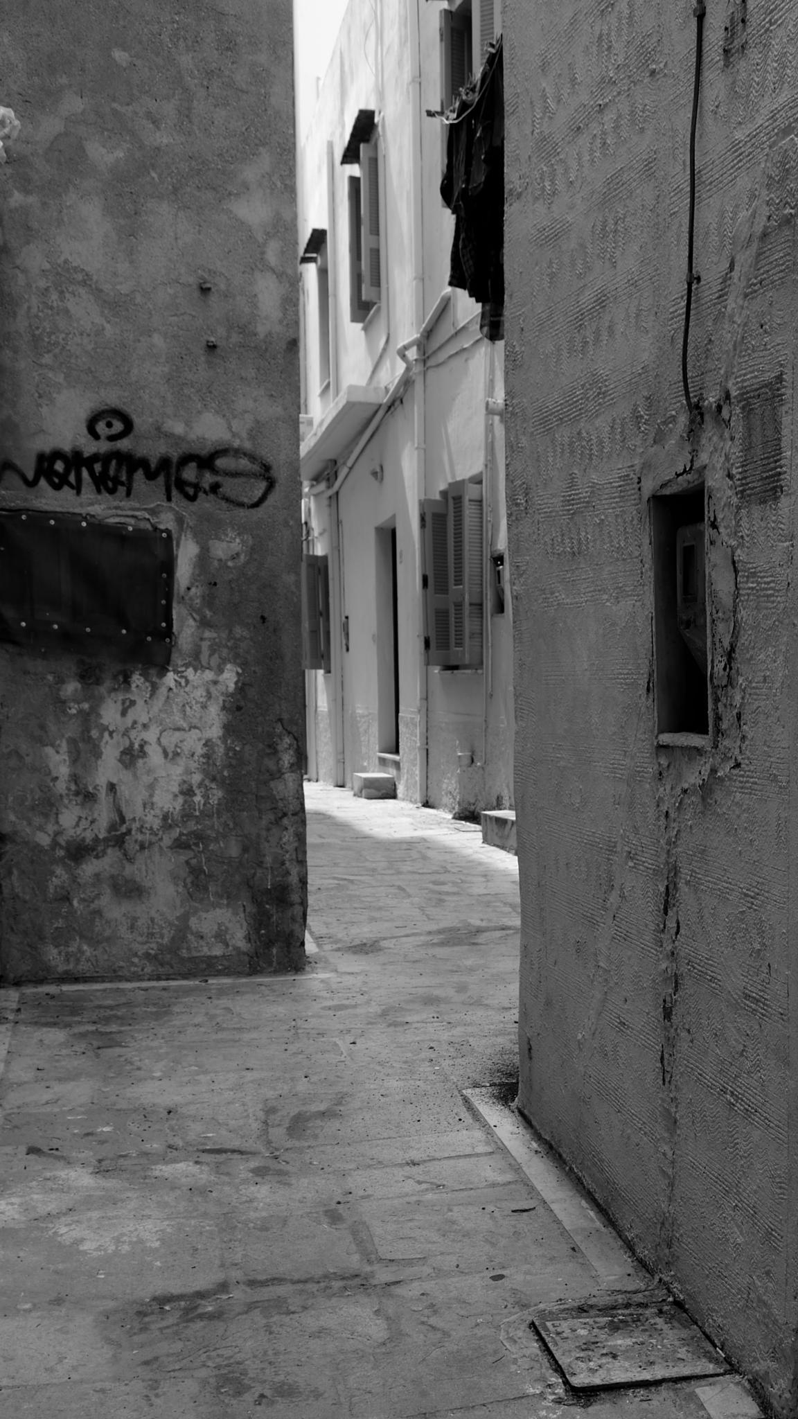Old Town 3 by Poul-Erik Riis