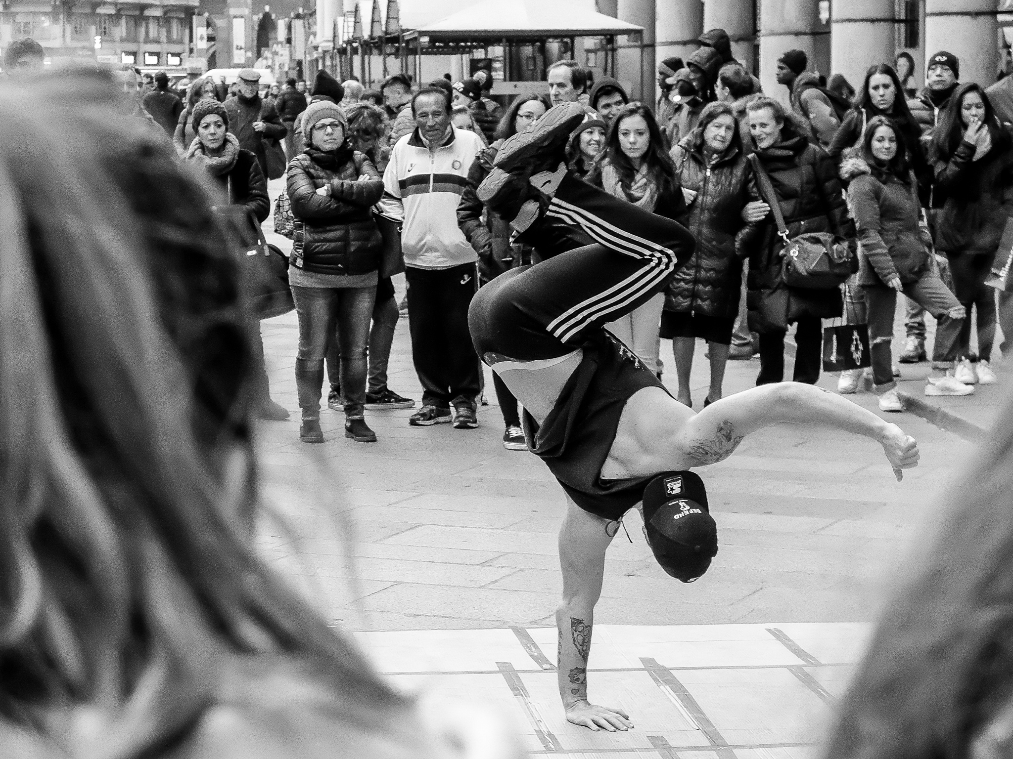 Street show by Morris Ljung