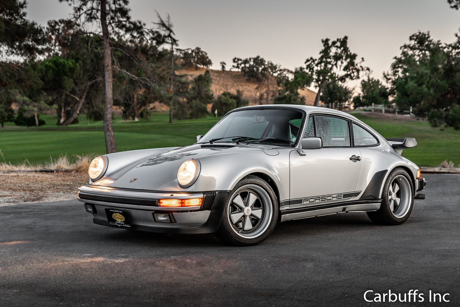 1987 Porsche 911 Turbo for sale at www.carbuffs.com by rcollinsphotography