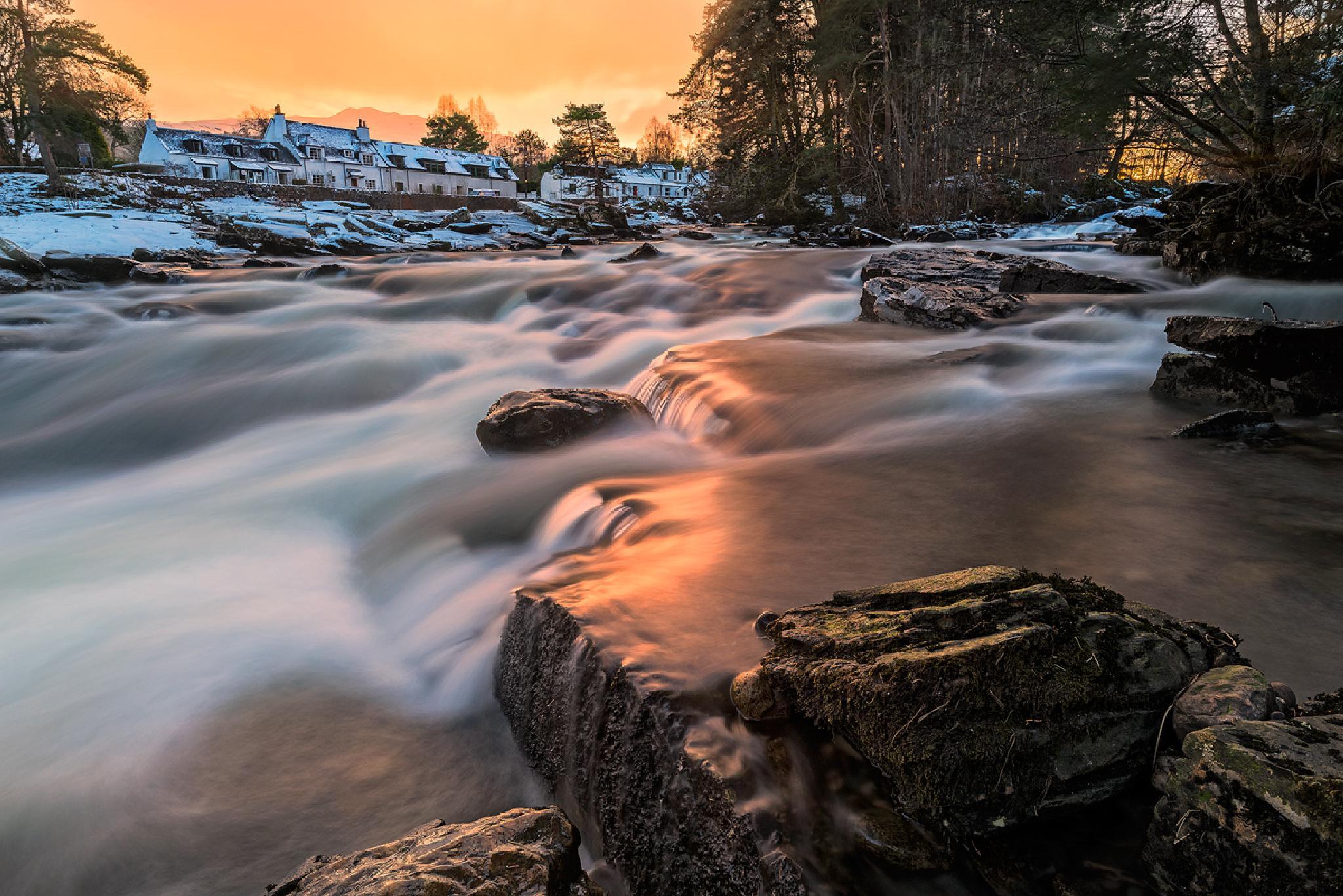 Golden Falls by Douglas Ritchie