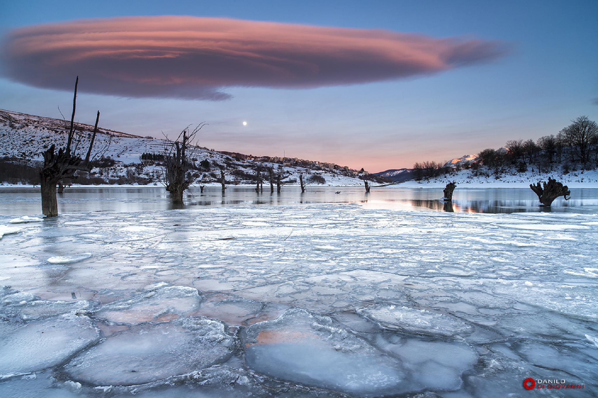 Sunset Ice by Danilo Di Giovanni