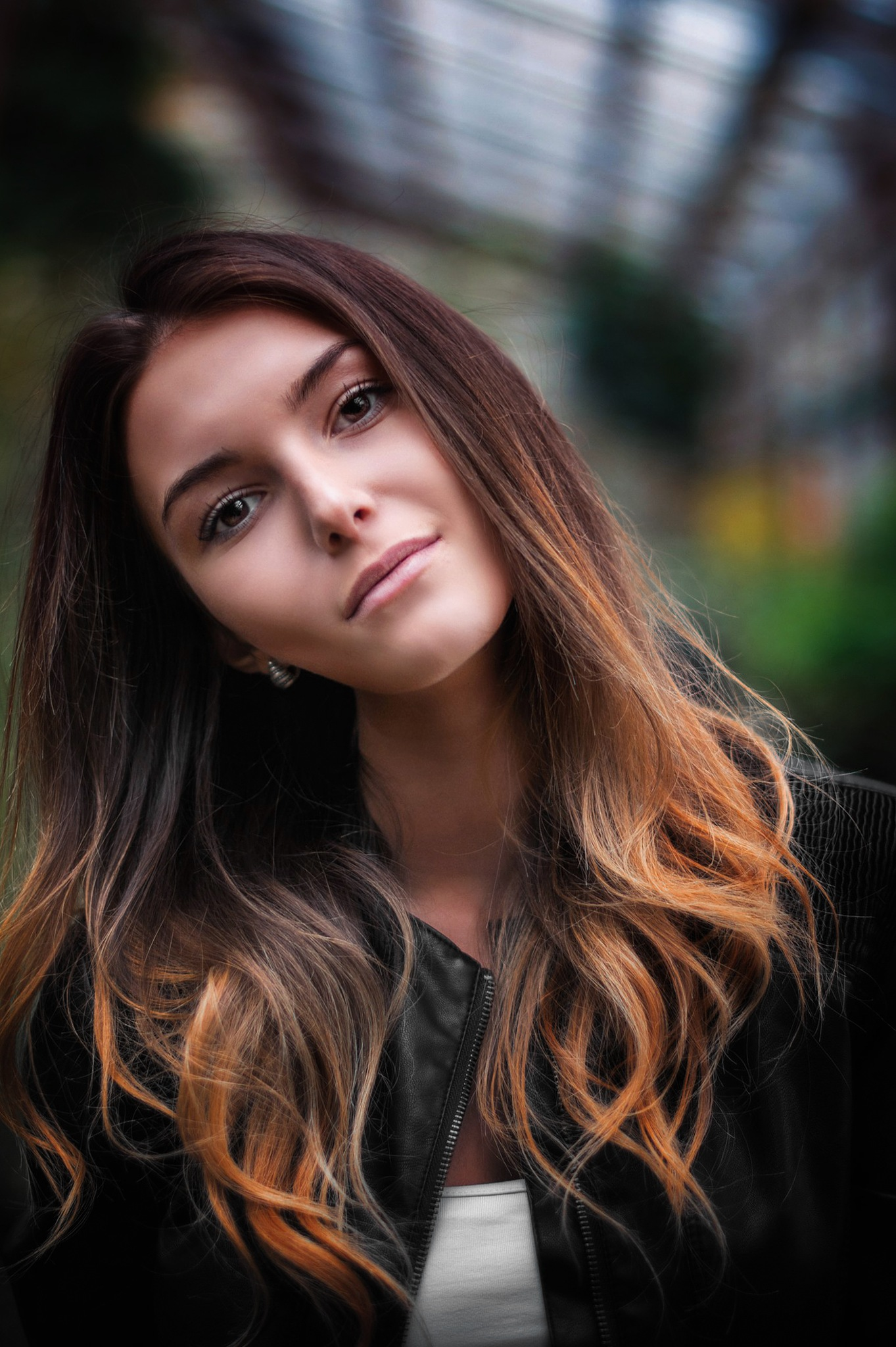 Serbian girl by Roman Alyabev