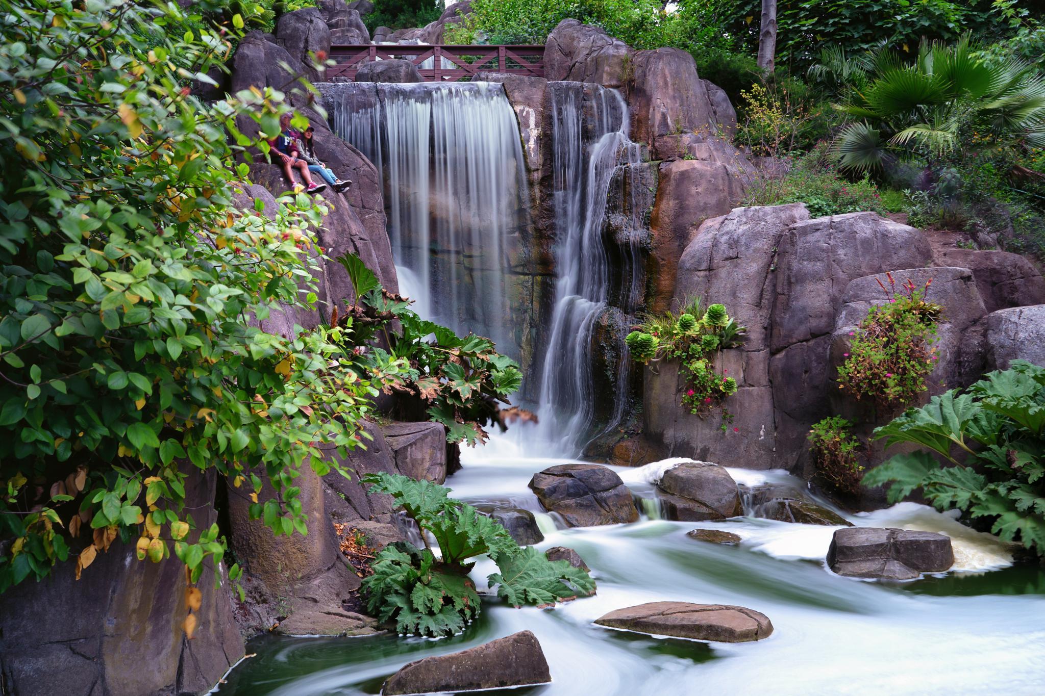 Huntington Falls  by Charles Donaldson