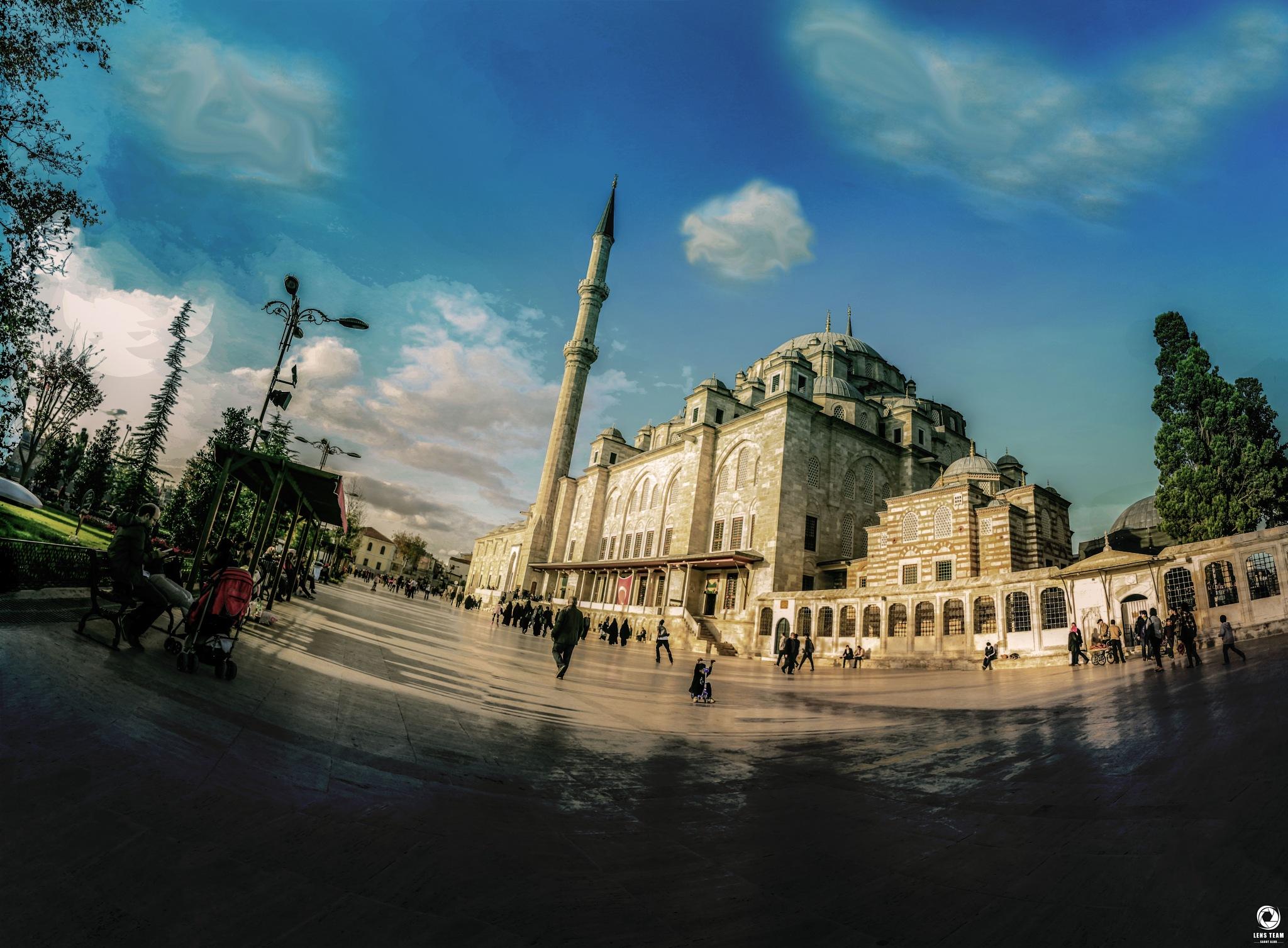 Fatih Cami by OBADA HASHIM
