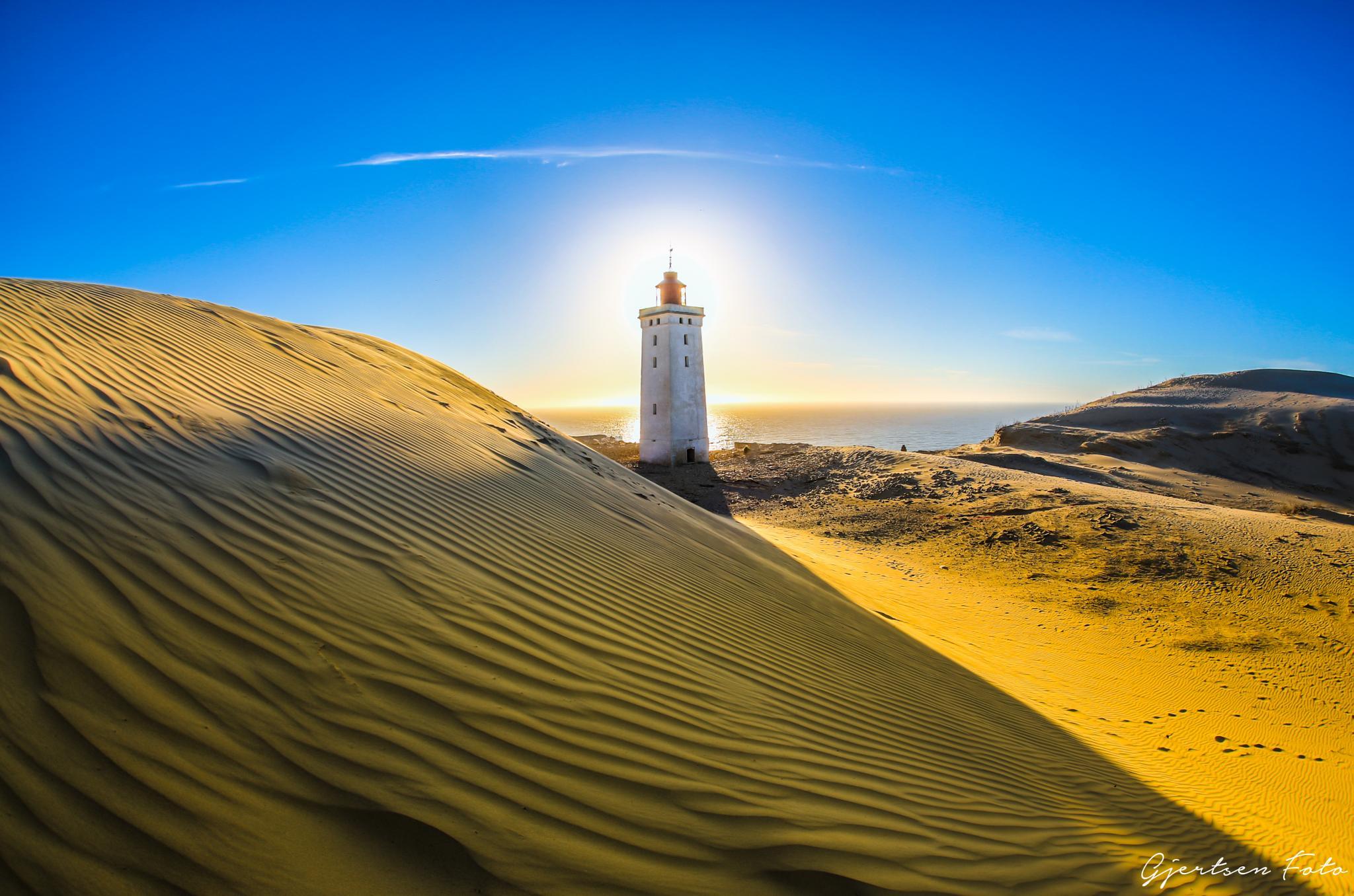 Rubjerg Knude Lighthouse by gjertsenfoto