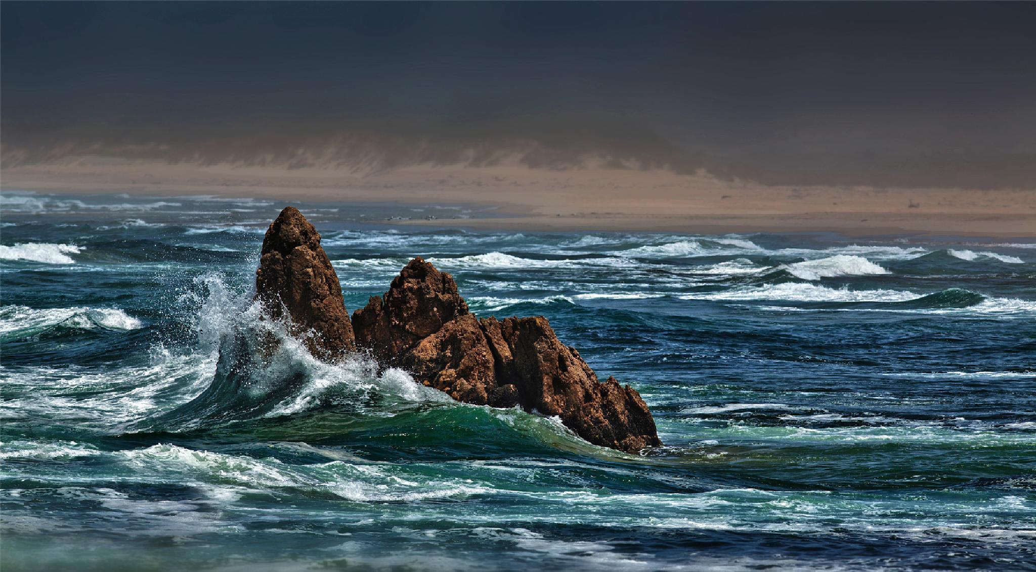 Brenton on Sea by GeorgeVeltchev