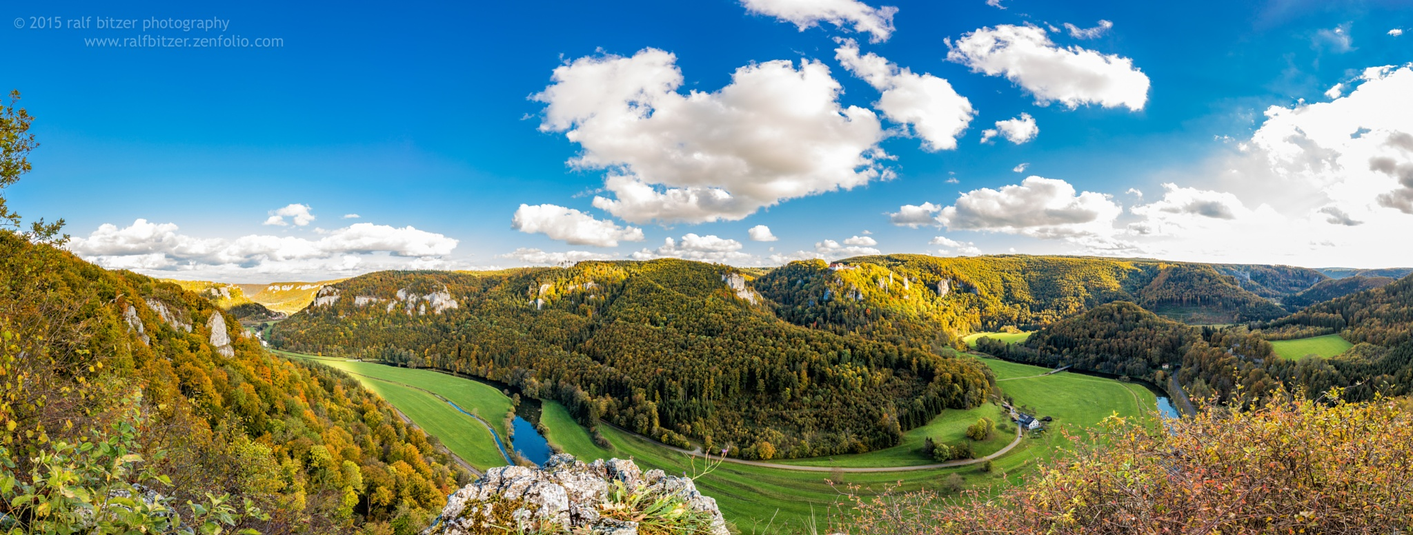 Blick vom Eichfelsen by Ralf Bitzer