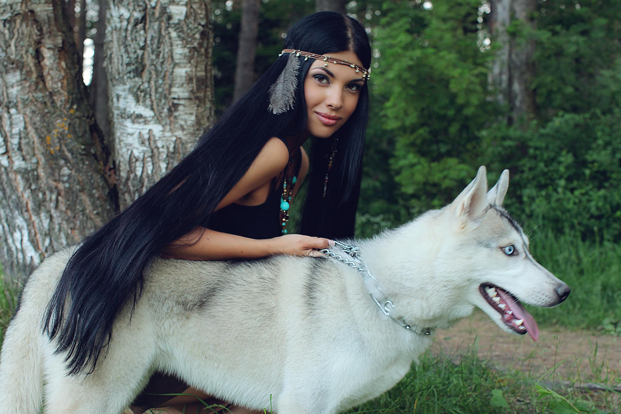 Zlata. Pocahontas by JuliaVasileva