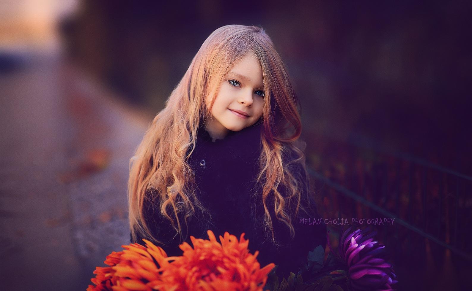 Violettes don't fade away by Melan Cholia