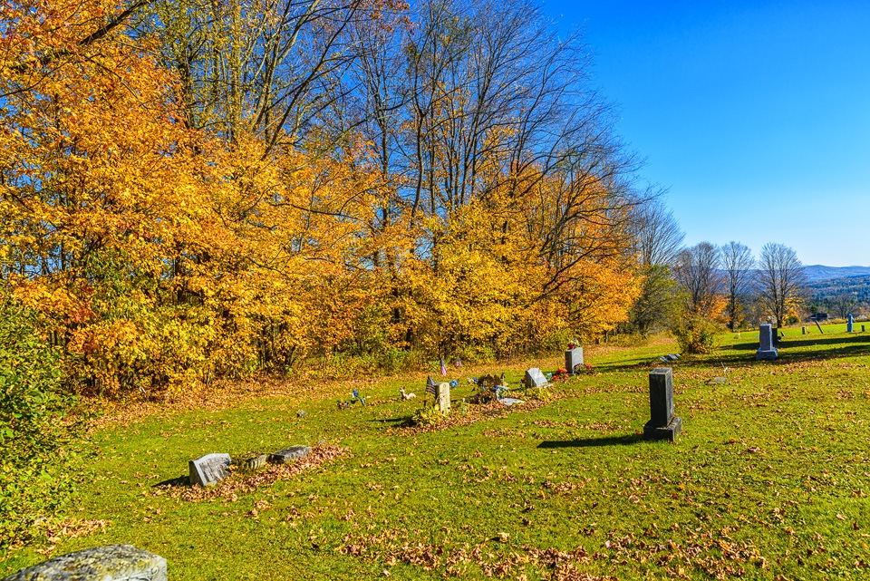 Fall in the Cemetery by Brian Padraig O'Connor