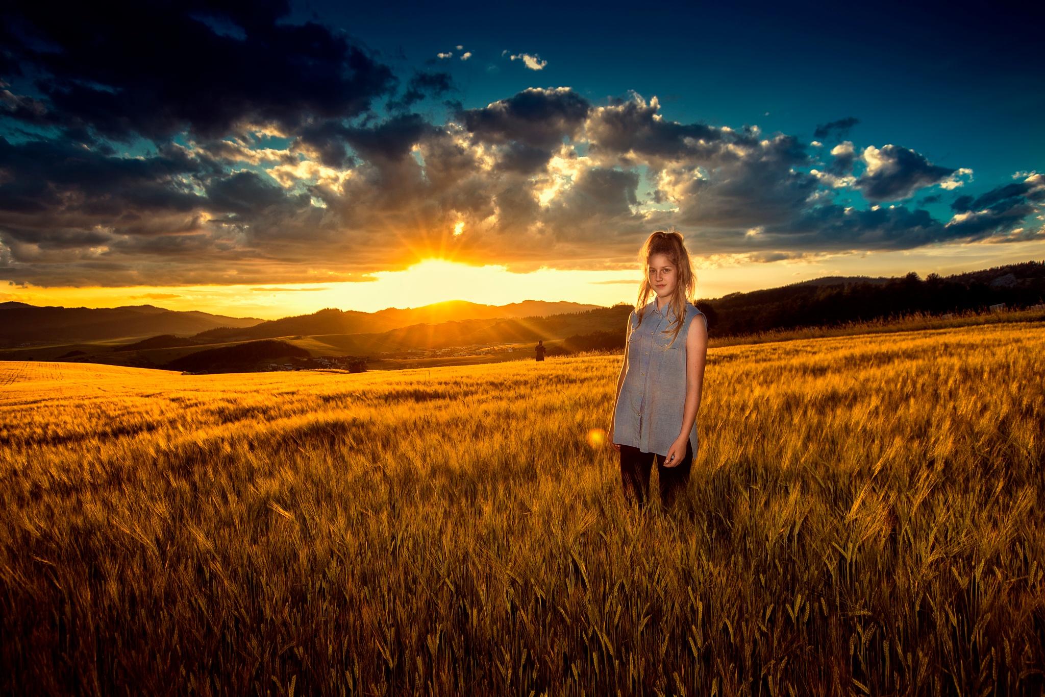 Sunset by Krzysztof Mackiewicz