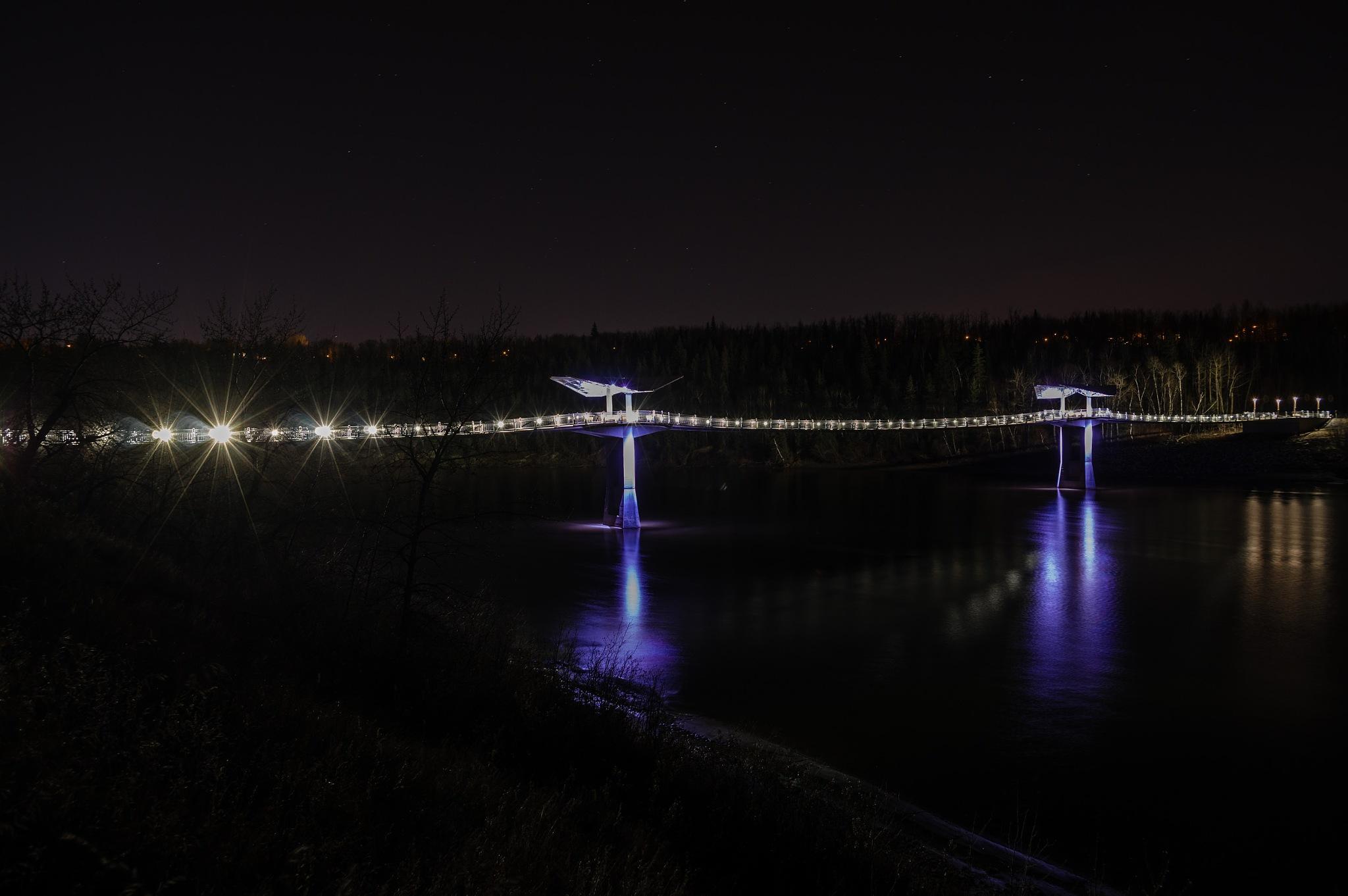 A New Bridge 1 of 2 by Glen Bowe