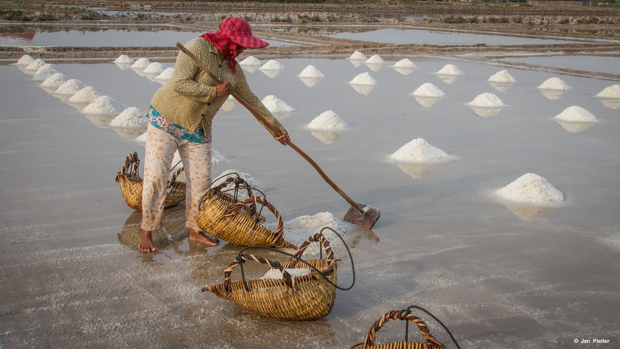 Salt fields of Kampot... by Jan Pleiter