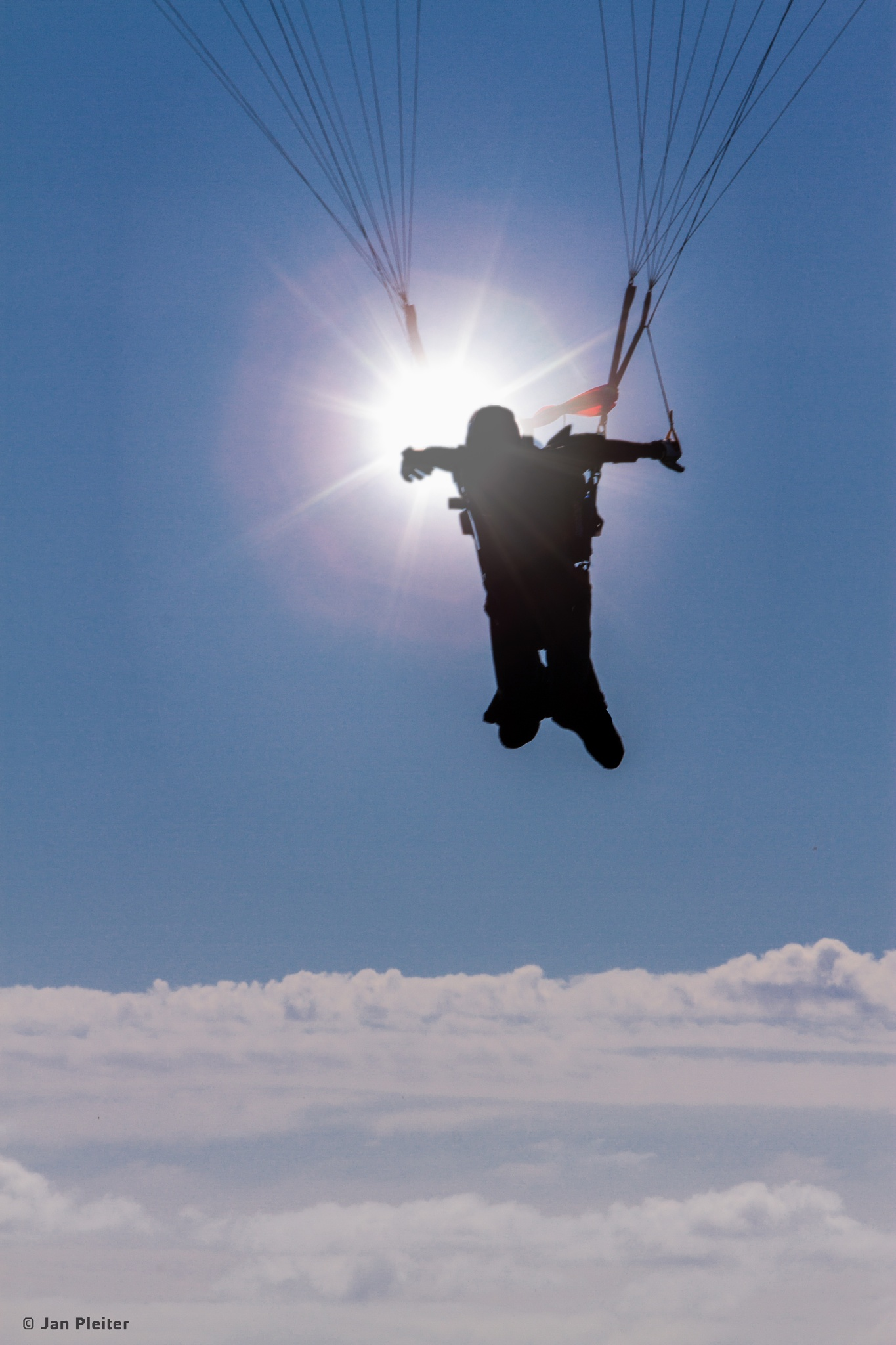 Photo in Random #skydiving #parachute