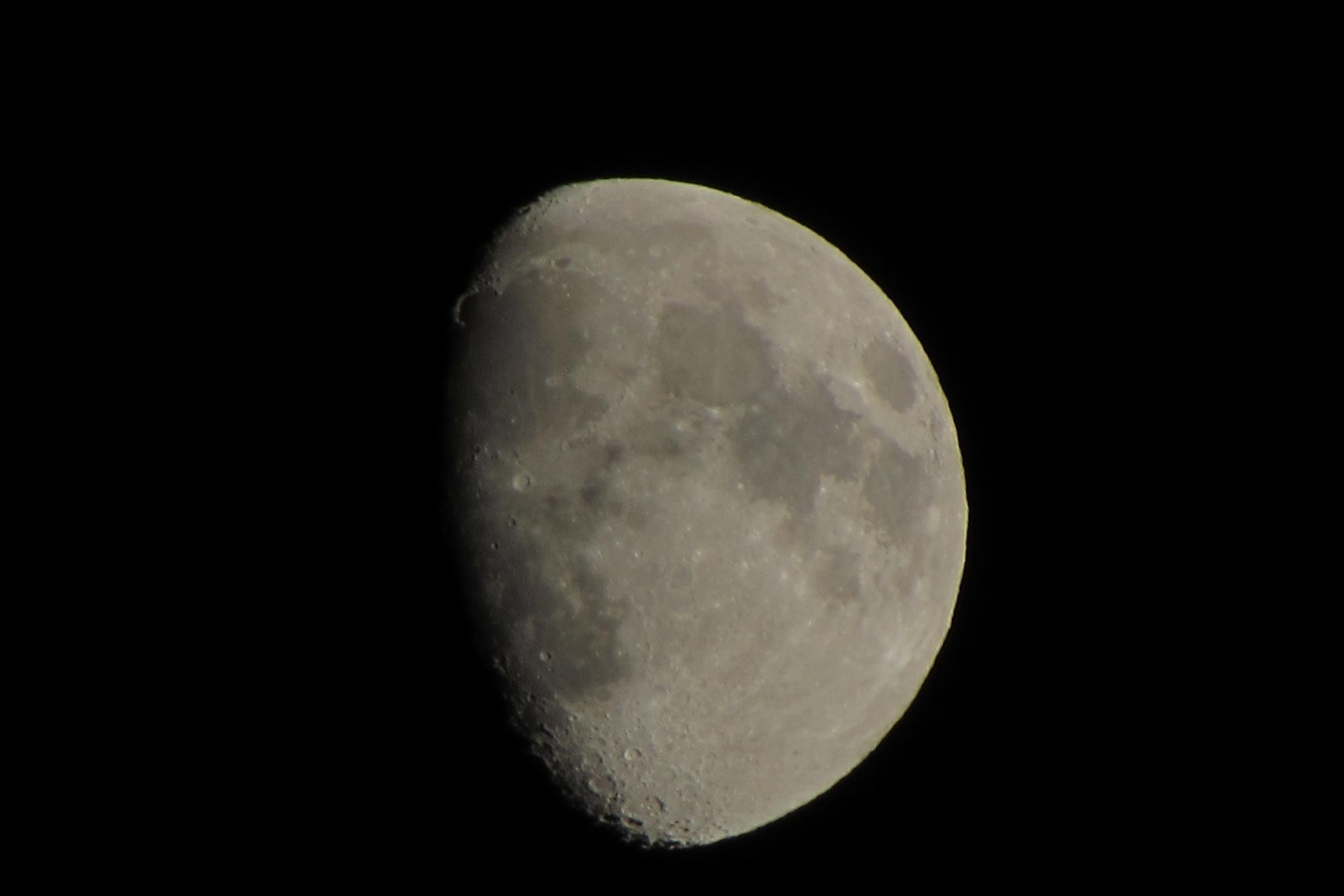 Moon by Isabel Gonzalez Martil