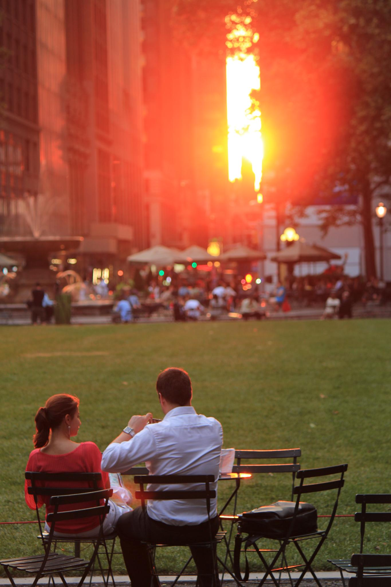 Once upon a time in Bryant Park, NYC by Steven Yun