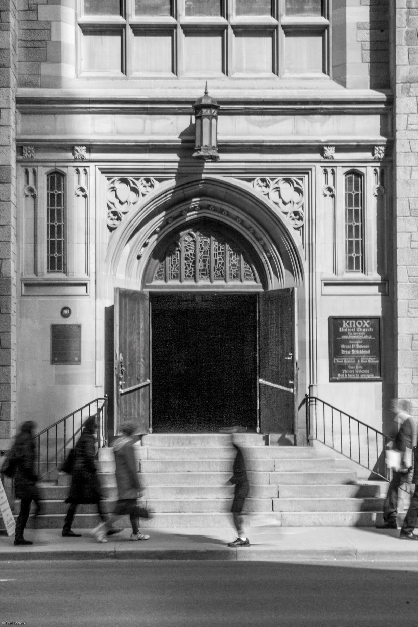 Doors open by Paul J Lacroix