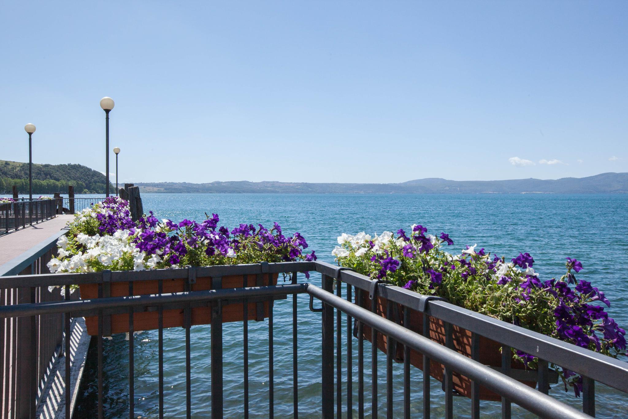 le fioriere e il lago by Patrizia Emmepi