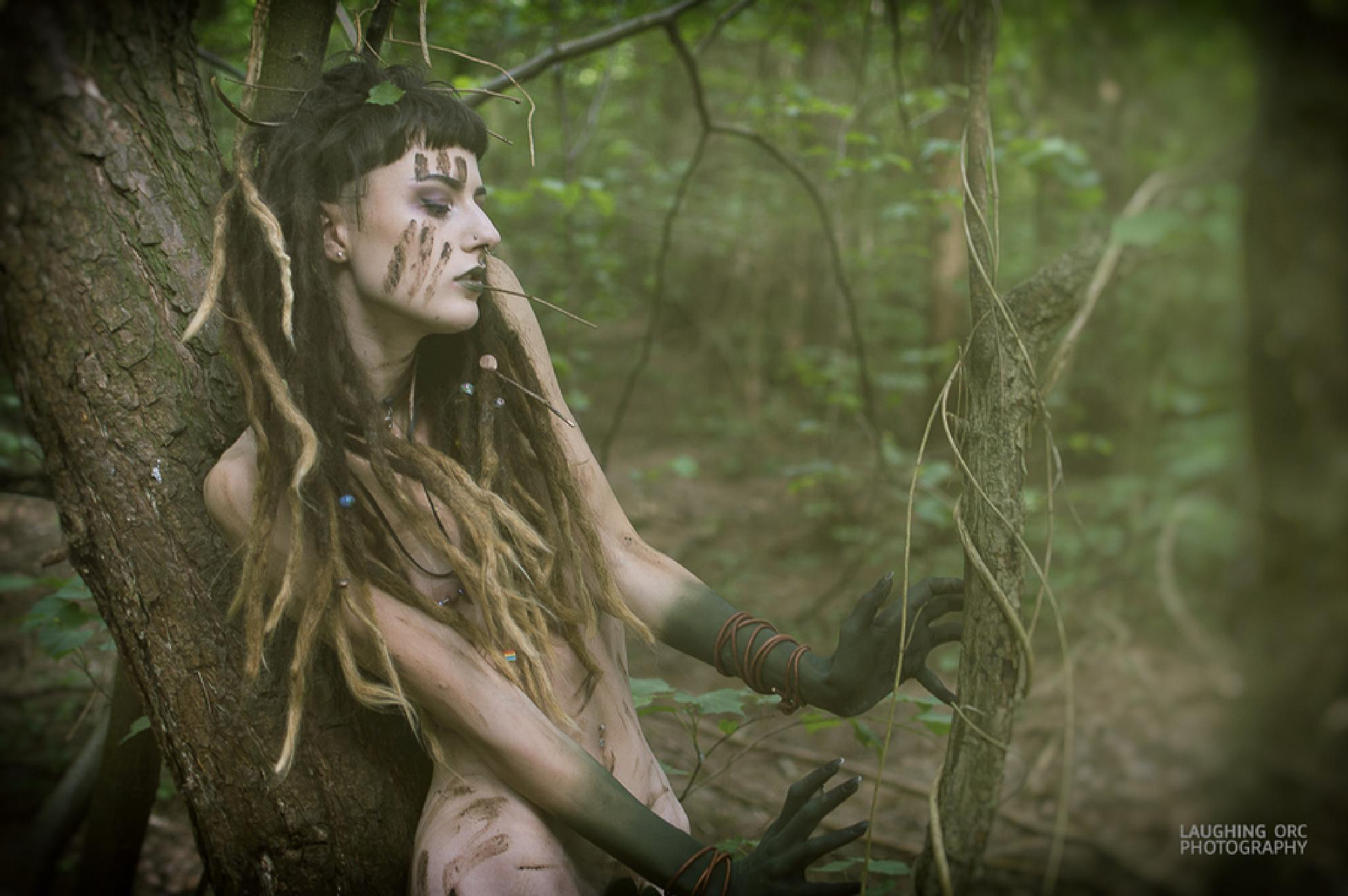 Hast thou not torn the Naiad from her flood, The Elfin from the green grass? by James Hall