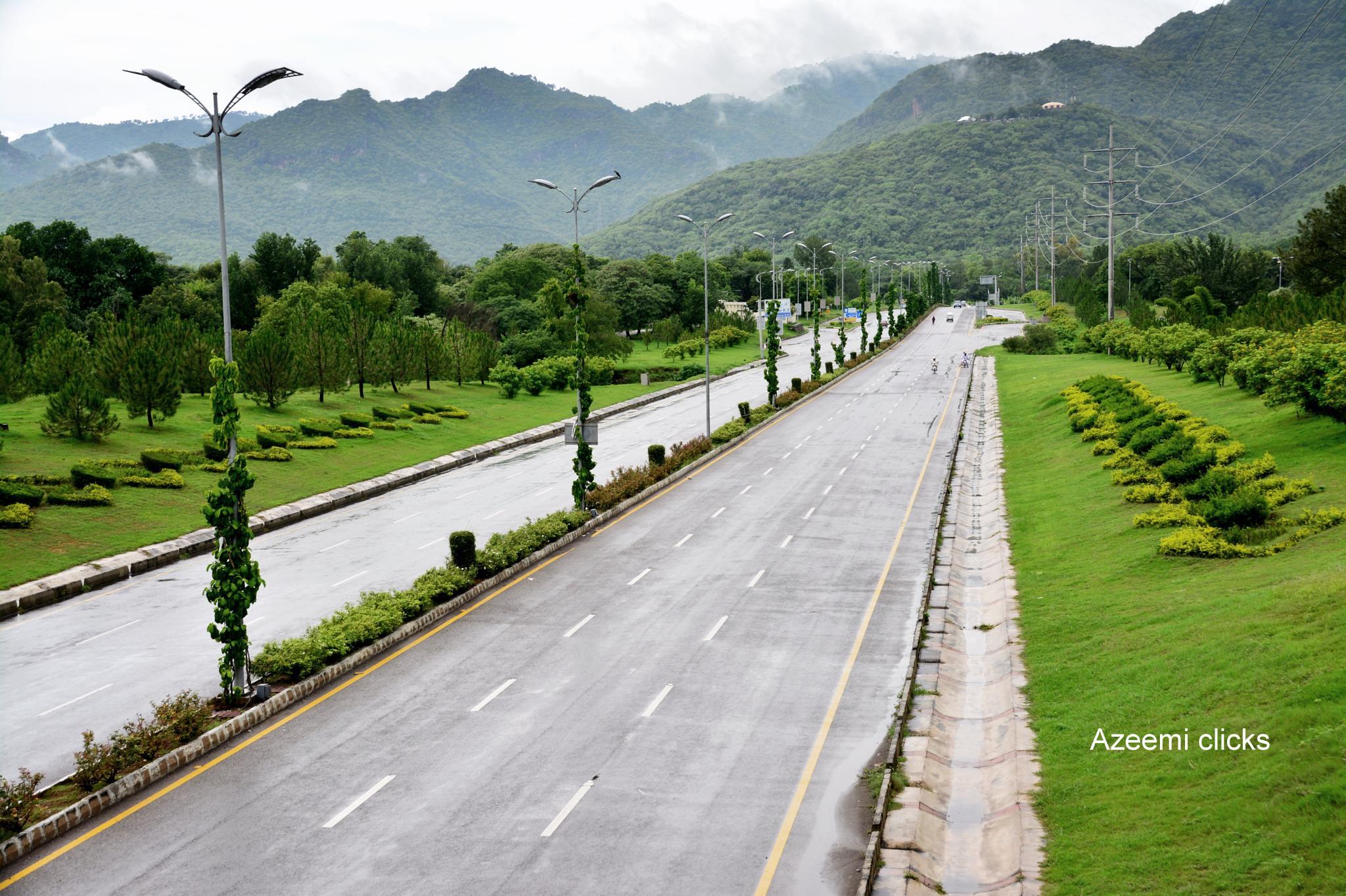 Islamabad after the rain by azeemiclicks