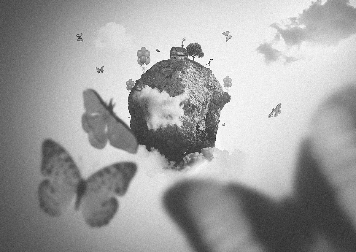 Butterfly Island by Piotr Arnoldes